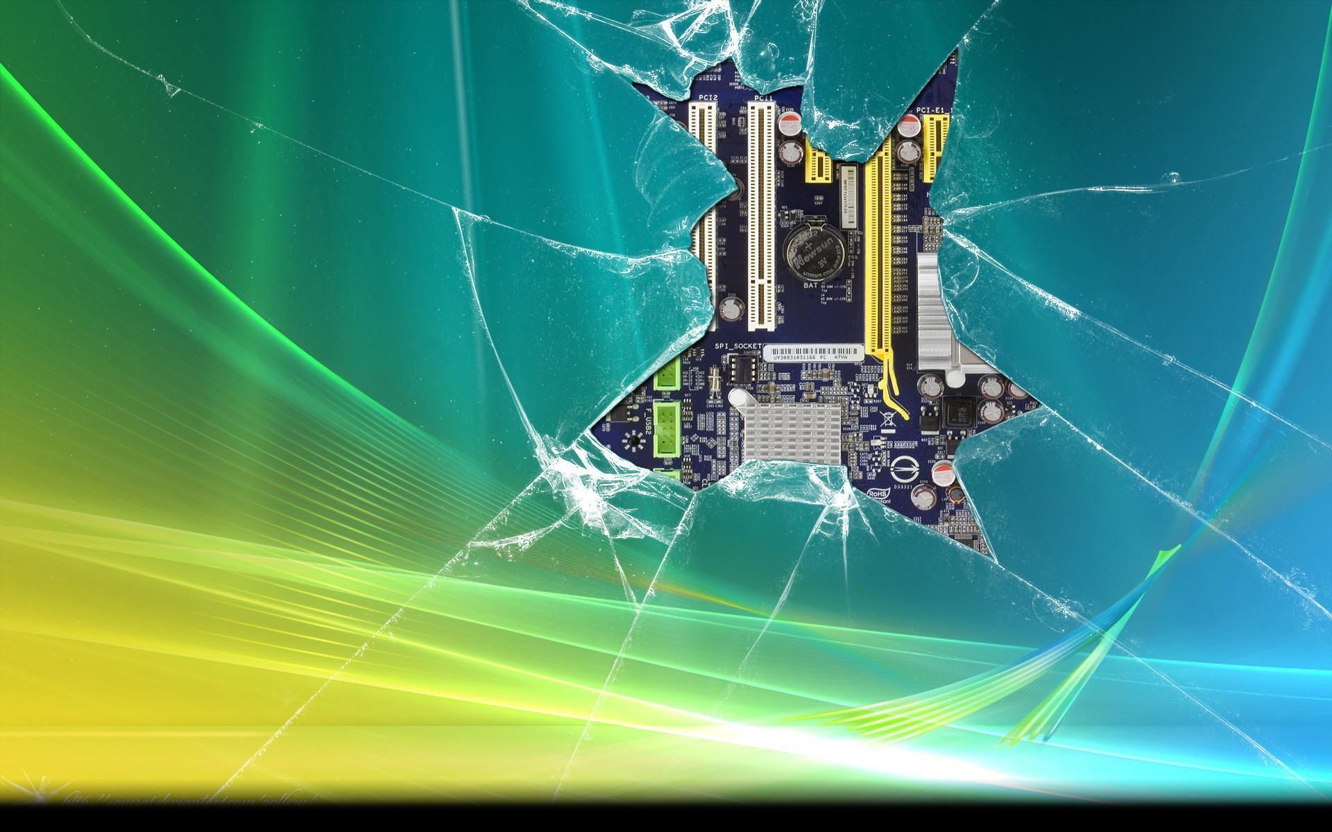 Broken Screen HD Wallpapers