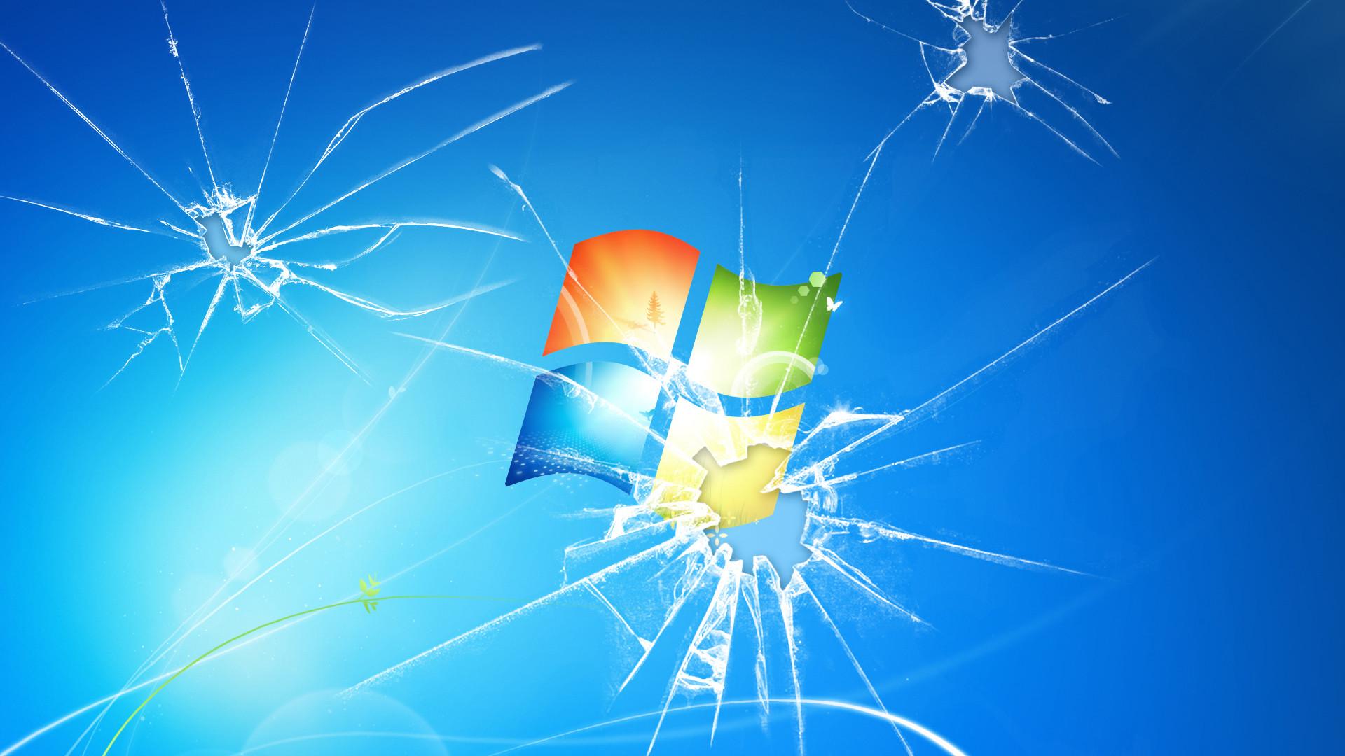 Download Broken Glass Windows Wallpaper   Free Wallpapers