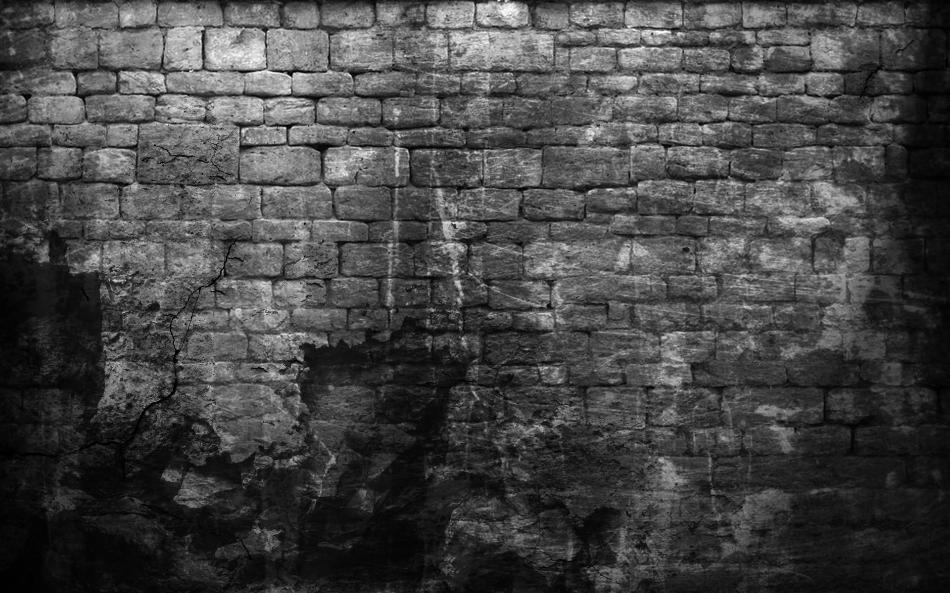 … Home Design : Broken Brick Wall Black And White Beadboard Kids broken  brick wall black and …