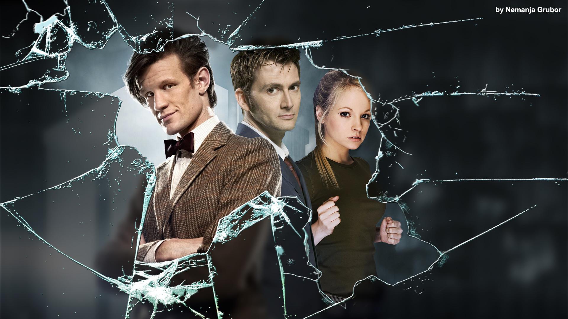… Doctor Who broken glass wallpaper by ngrubor