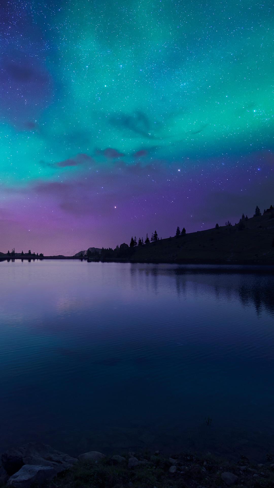 night gall at lake aurora iphone 6