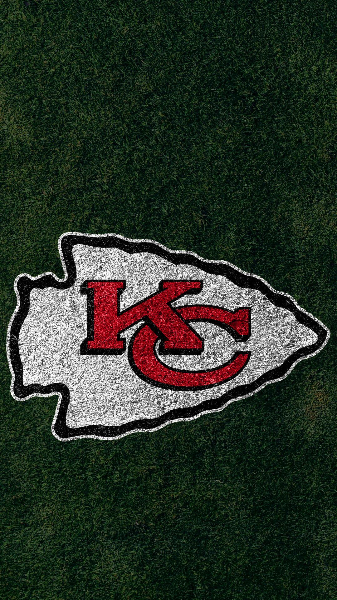 … Kansas City Chiefs 2017 turf logo wallpaper free iphone 5, 6, 7, galaxy