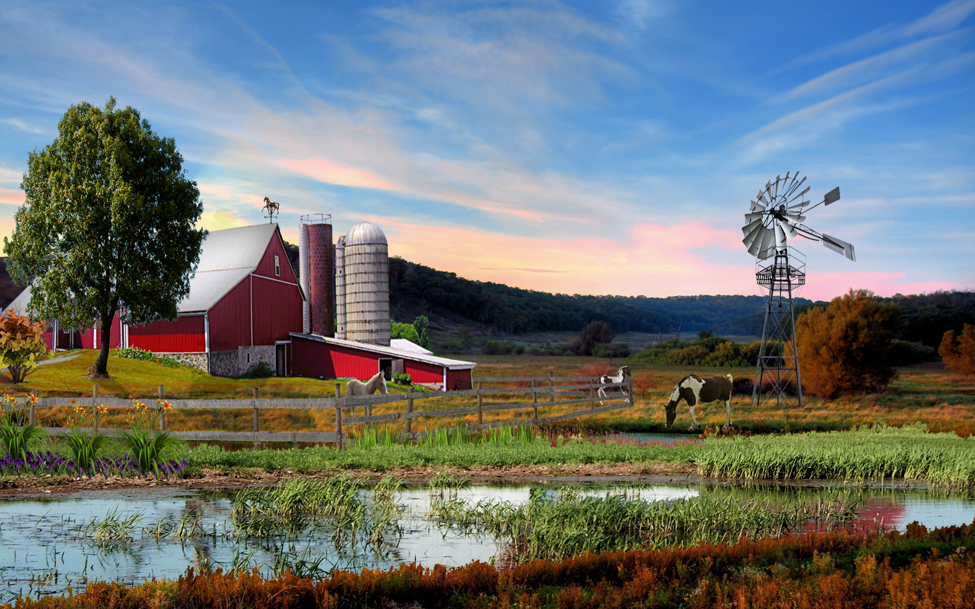 HD Wallpapers Beautiful Summer 2012 – Down On The Farm