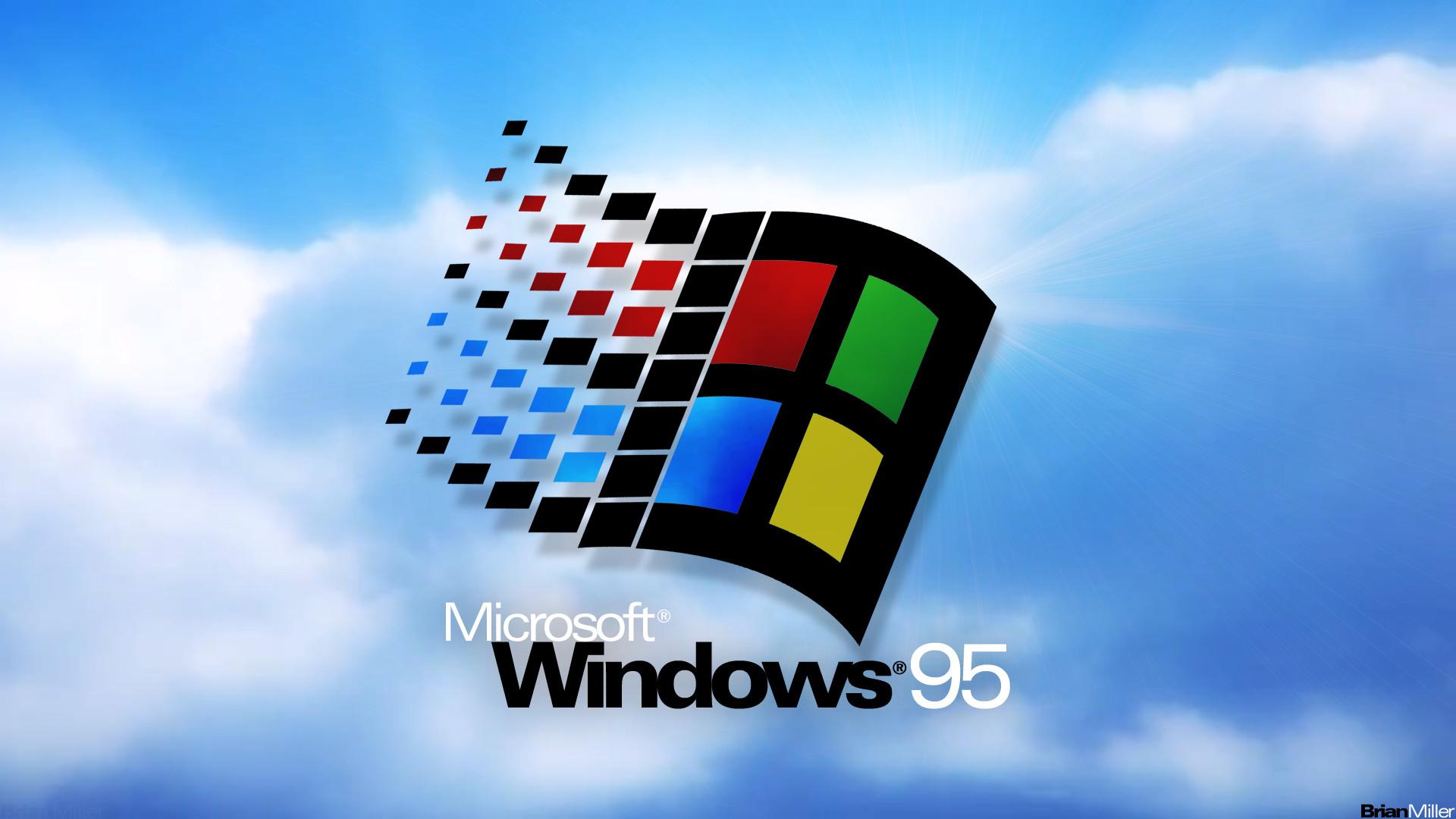 Windows 95 Widescreen Wallpaper – OS Customization, Tips .