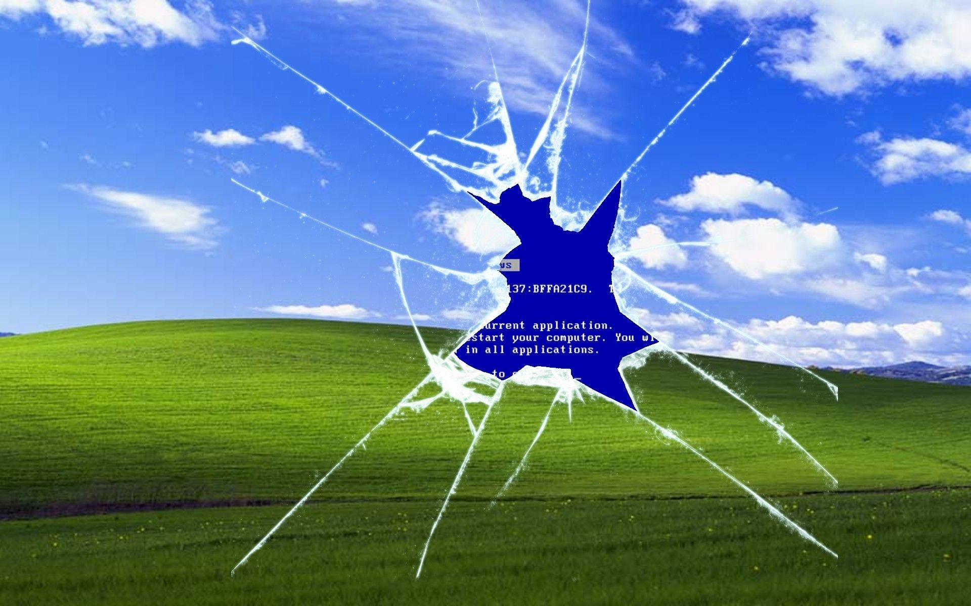 Windows XP Wallpapers Bliss Wallpaper 1920×1200 Windows Wallpapers Location  (31 Wallpapers) |