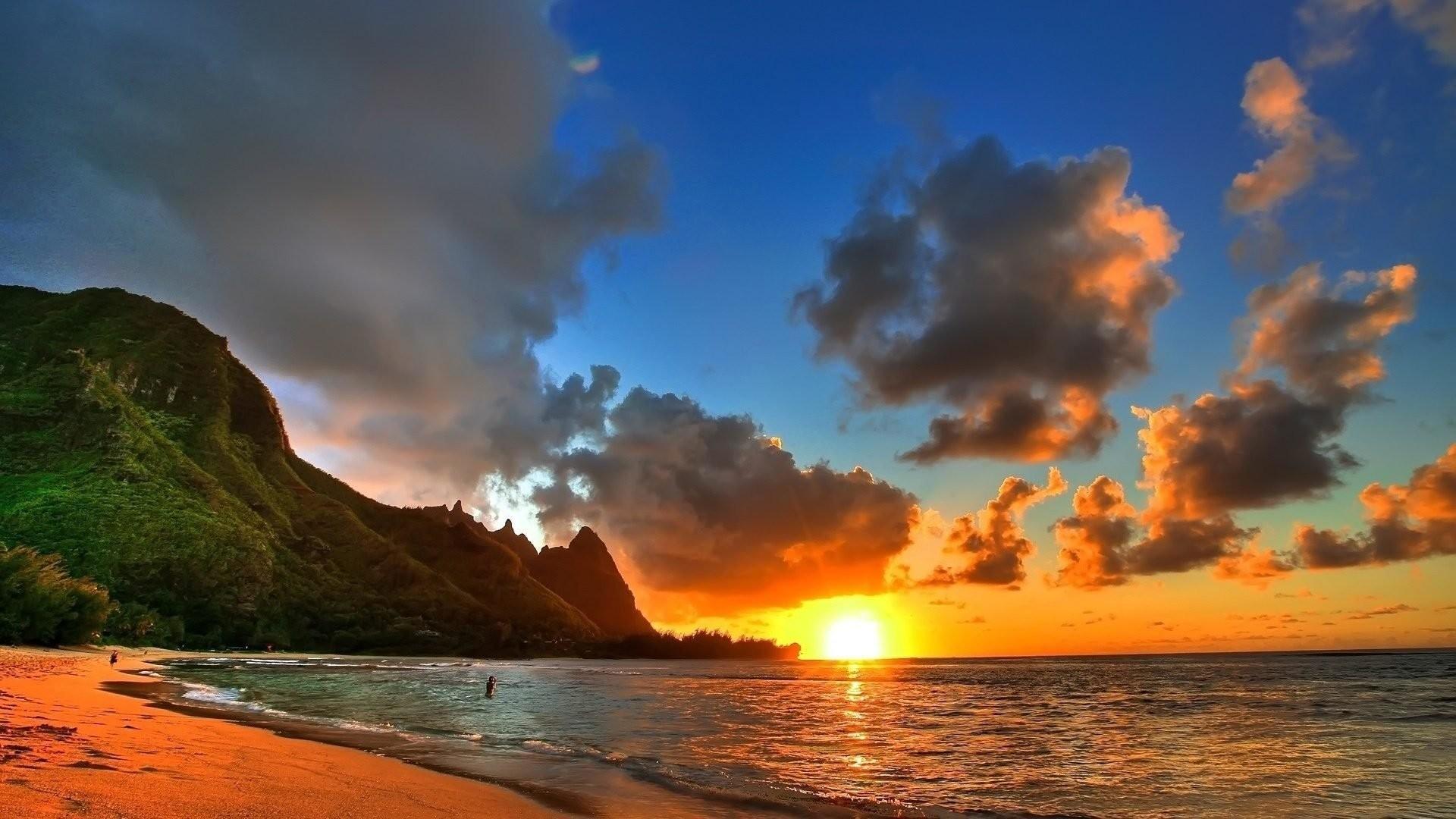 Hawaiian Beach Wallpaper 1920×1080