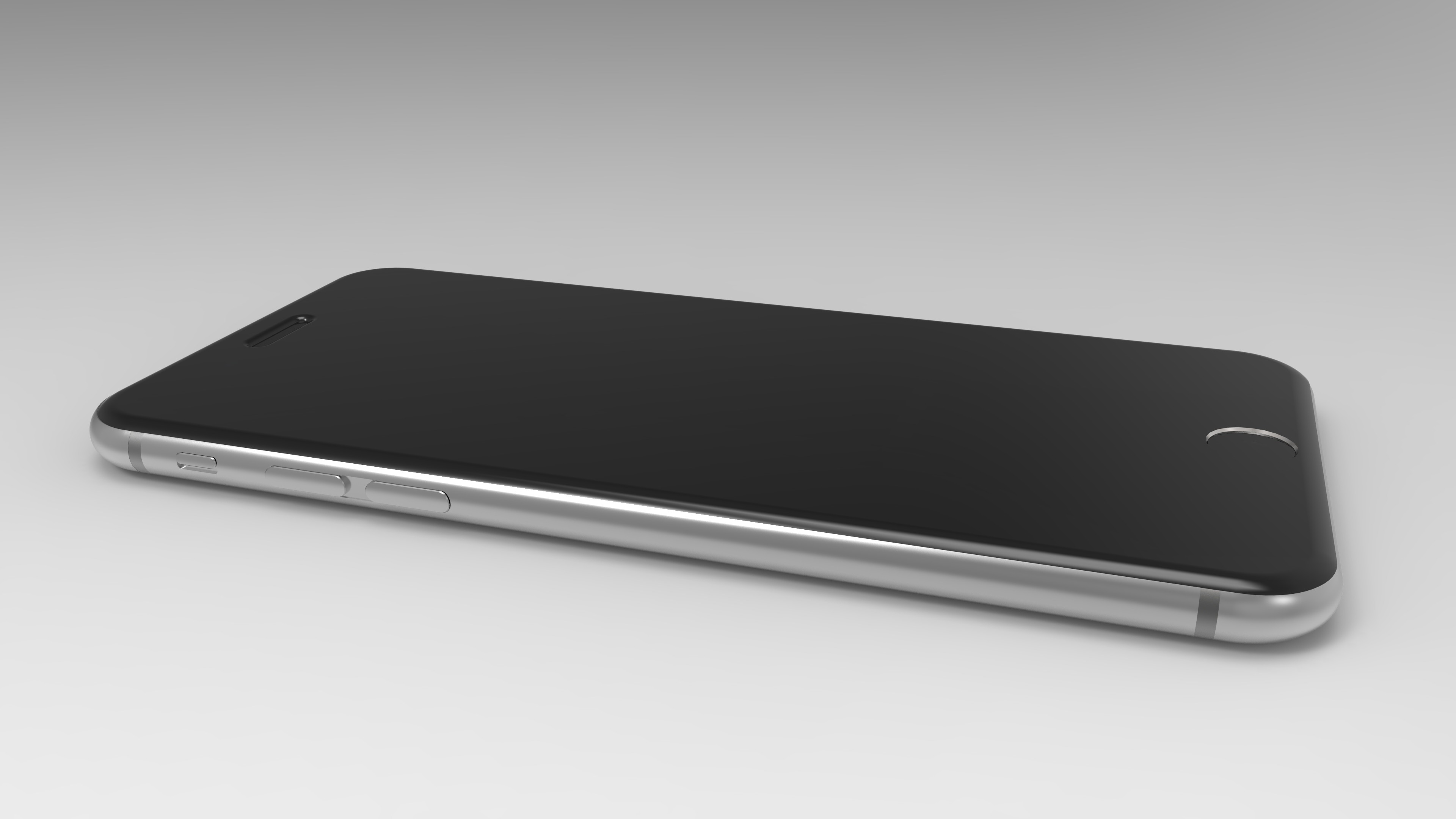 Download 3D model of iPhone 6, iPhone 6 Plus, iPhone 6s, iPhone 6 Plus and  more   4K Side