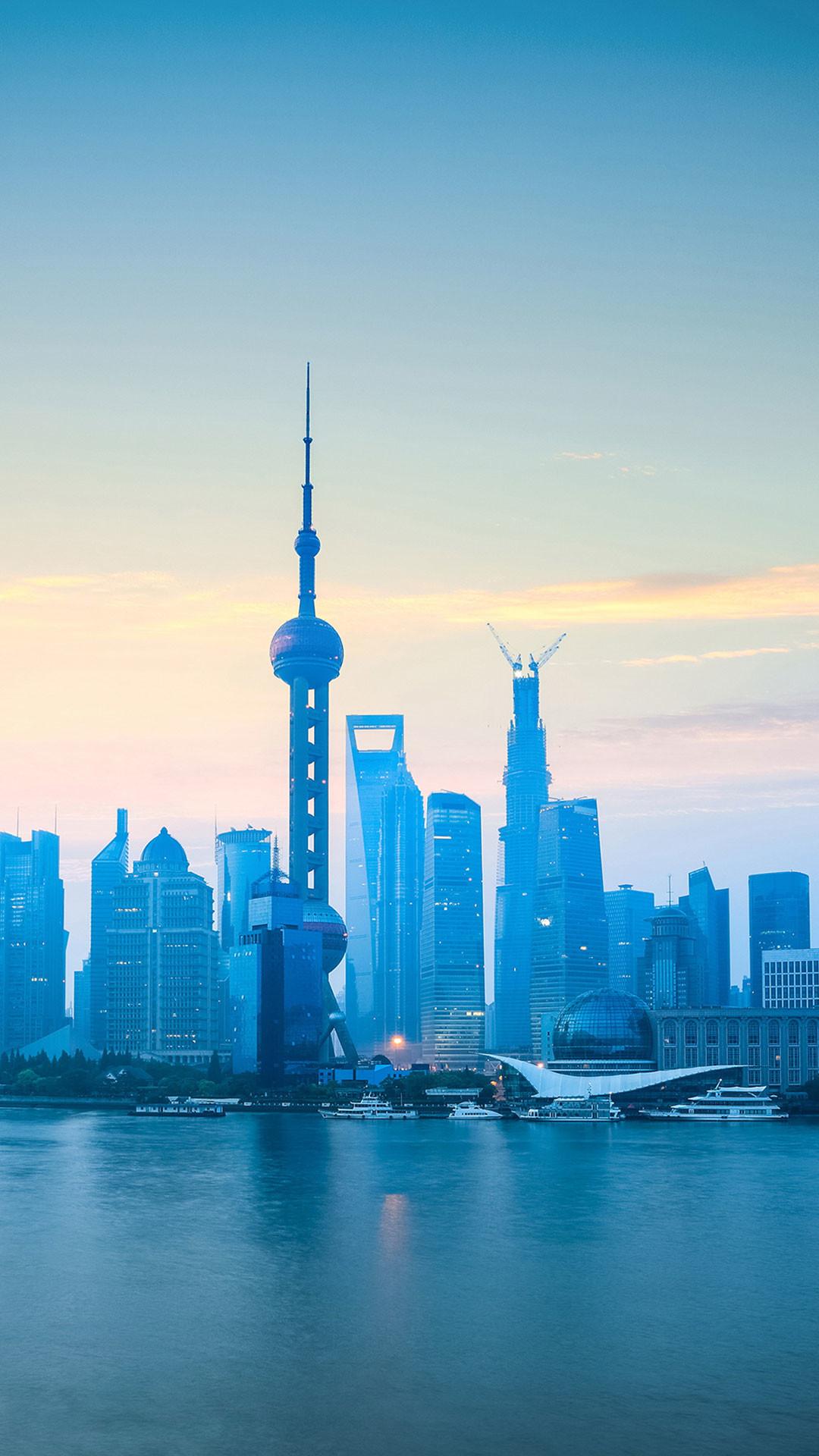 … The-bund-of-shanghai-china-iPhone-6S-Plus- …
