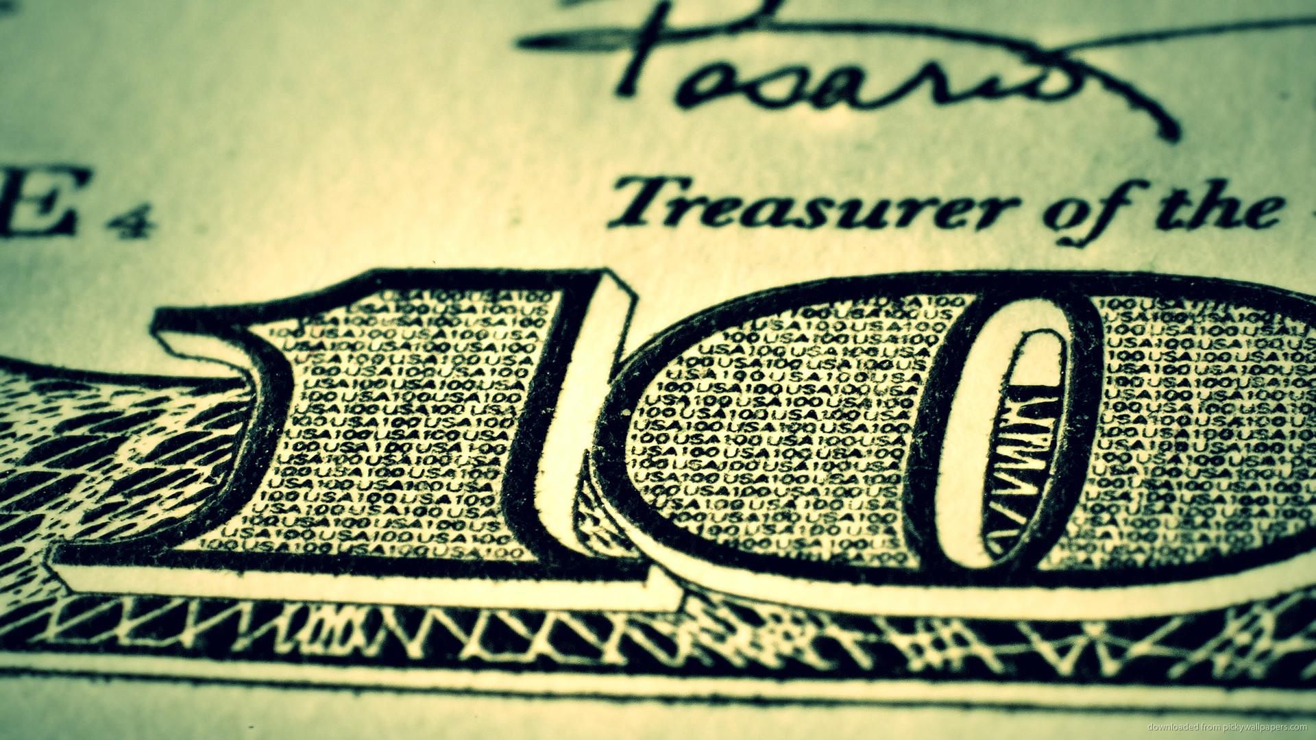 HD What is written inside 100 dollar bill wallpaper