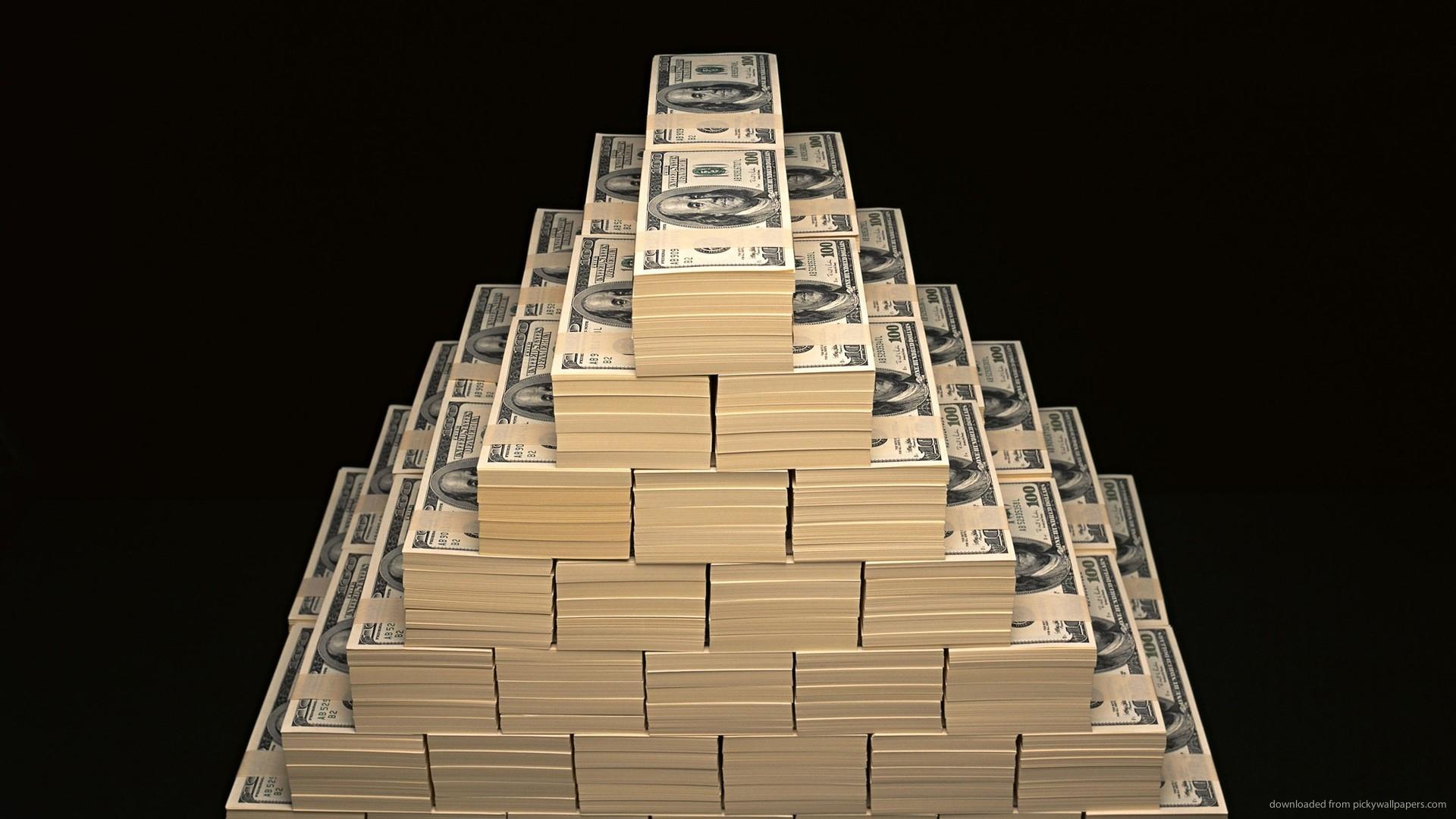 HD Money Pyramids wallpaper