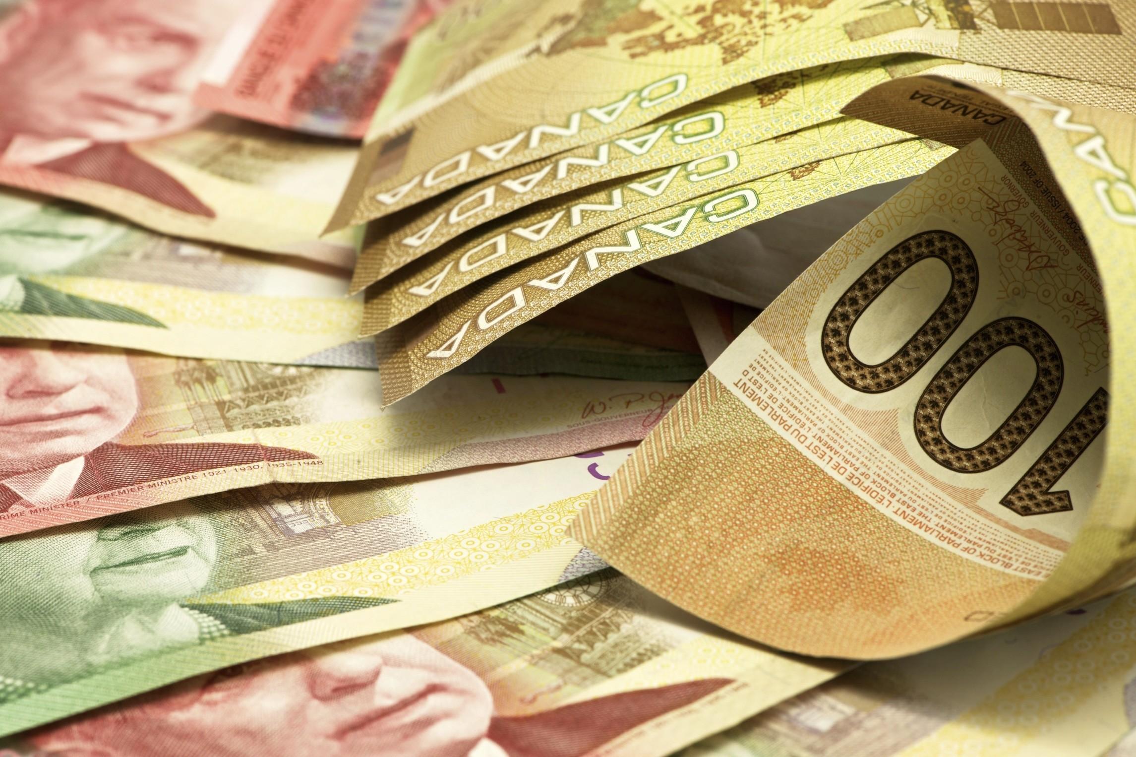 Canadian Money Banknotes Wallpapers | MoneyWallpapers.com