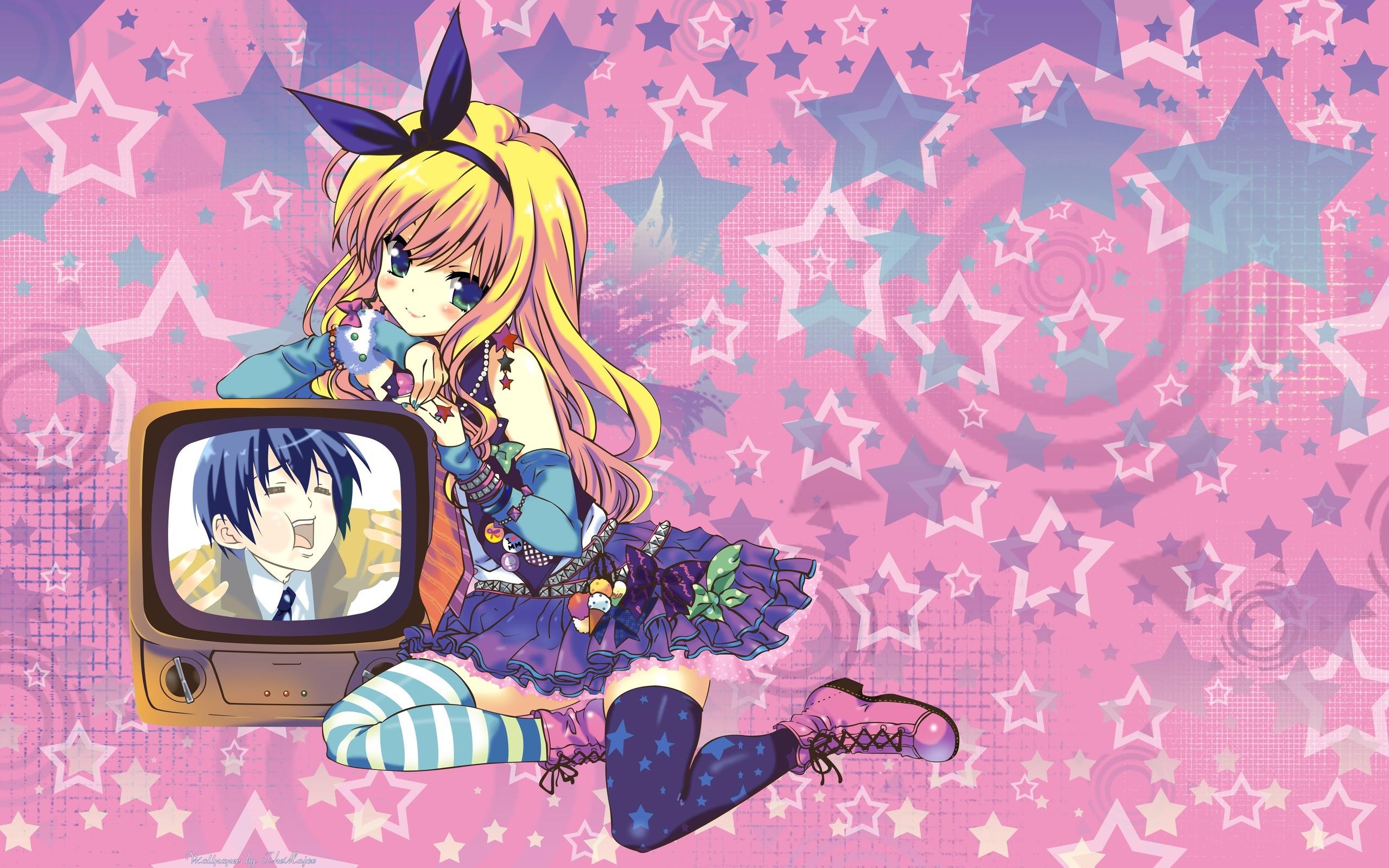 Wallpaper Emu Emu (MM!) Anime 2560×1600