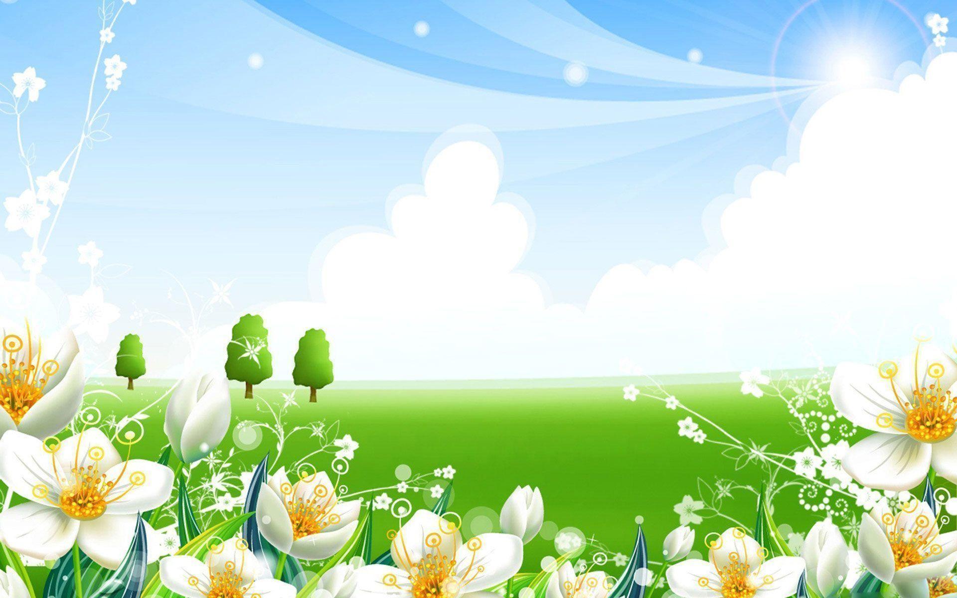 Wallpapers For > Summer Flowers Wallpaper Desktop