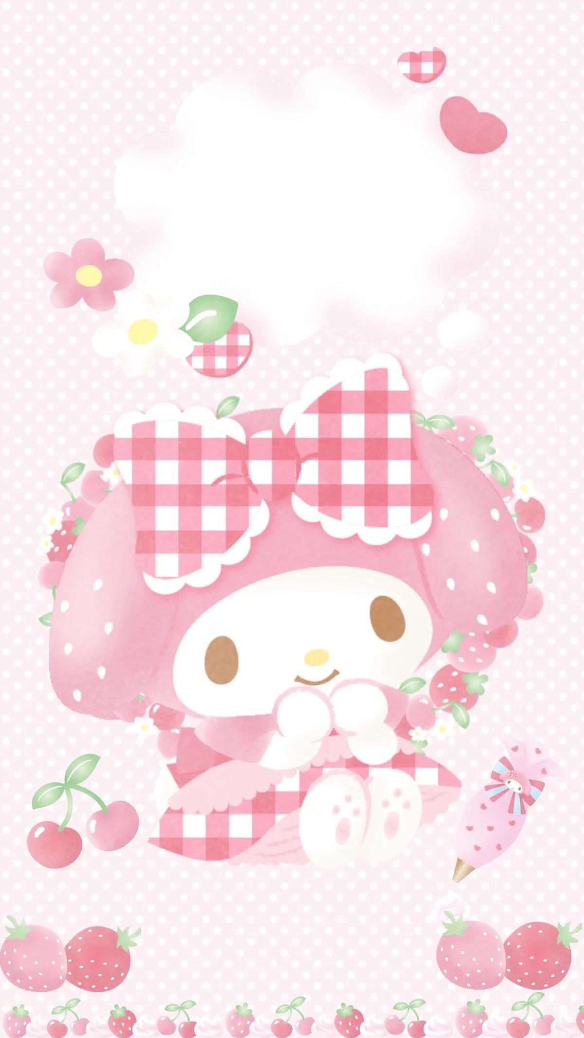 My Melody. My Melody WallpaperSanrio WallpaperIphone …
