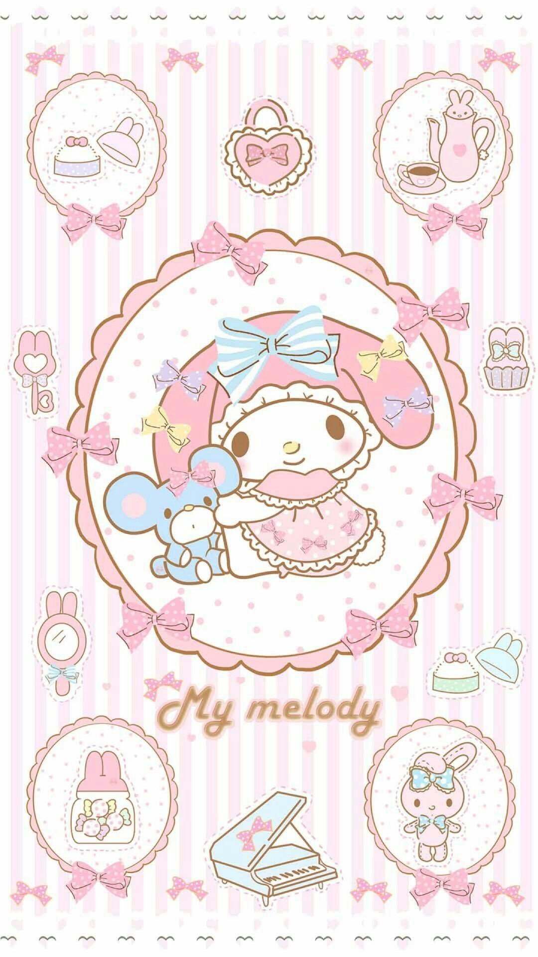 My Melody. Sanrio WallpaperKawaii WallpaperIphone …