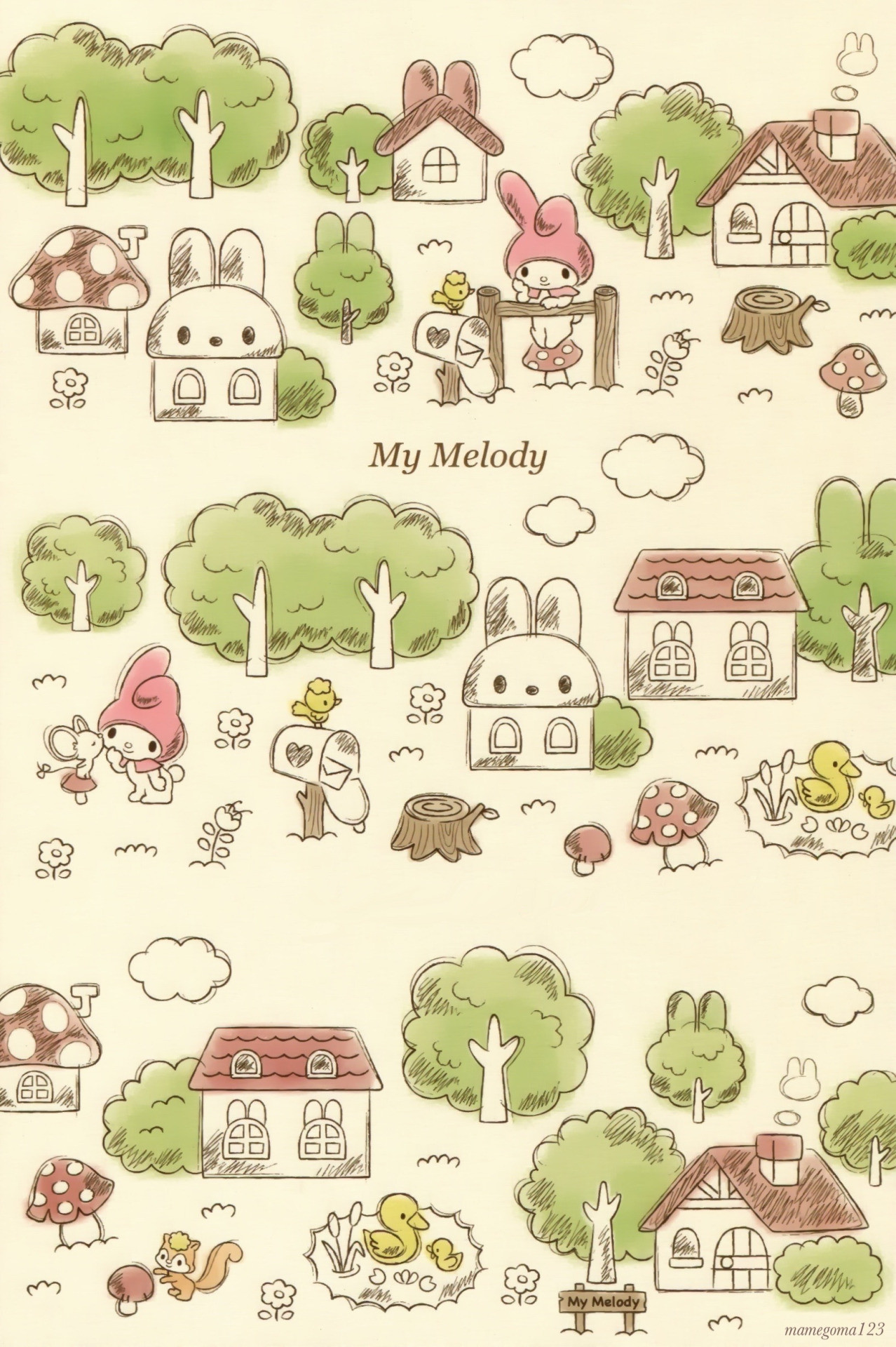 Cute images · My Melody. Sanrio WallpaperIphone …