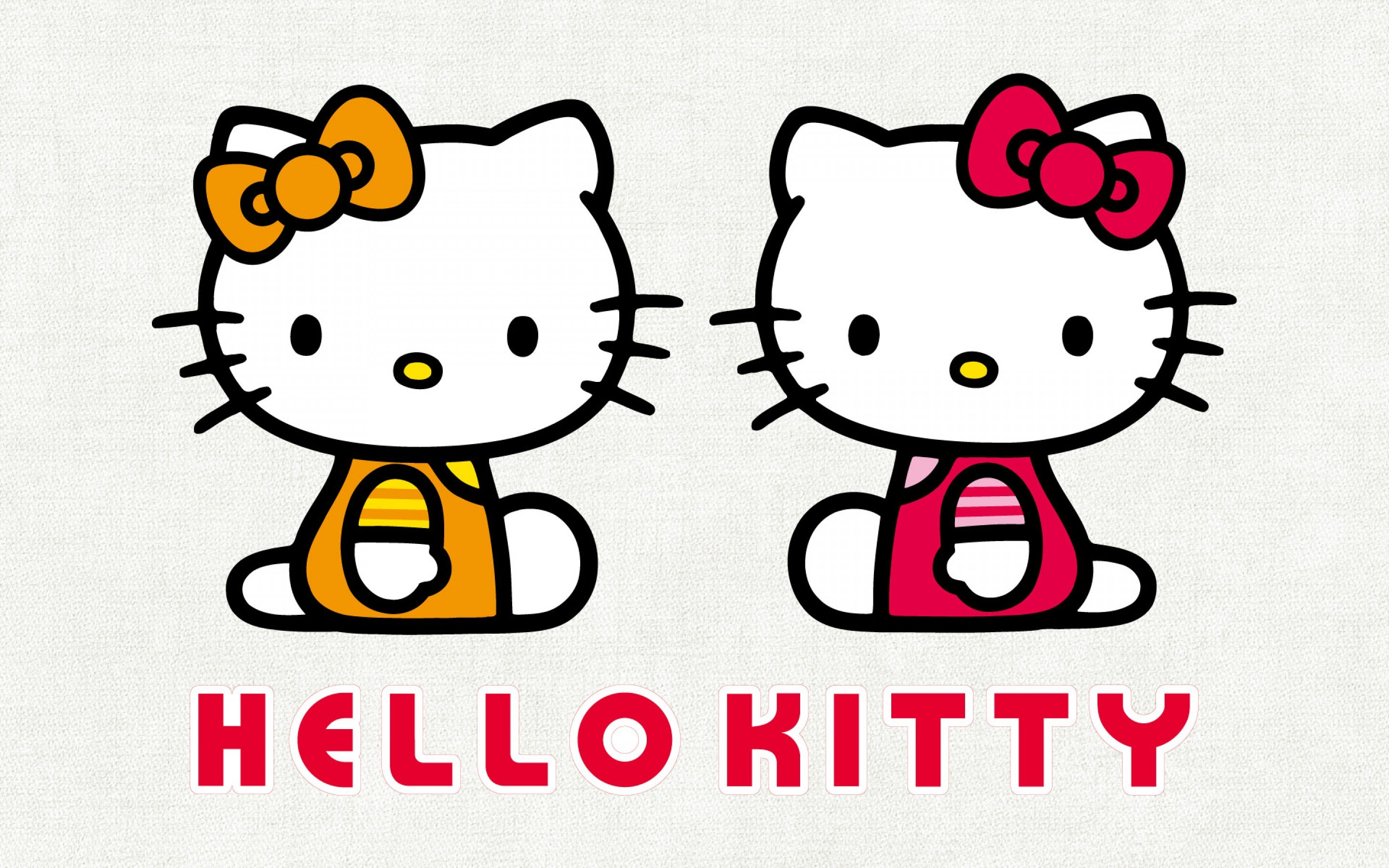 … Hello Kitty Wallpaper – with her twin sister Mimmy