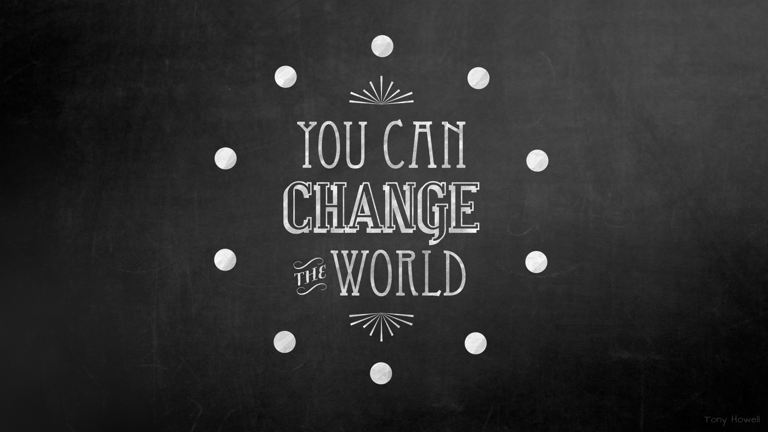 You Can Change the World | #desktop #wallpaper #quote | wallpaper |  Pinterest | Inspirational, Buddhism and Wisdom