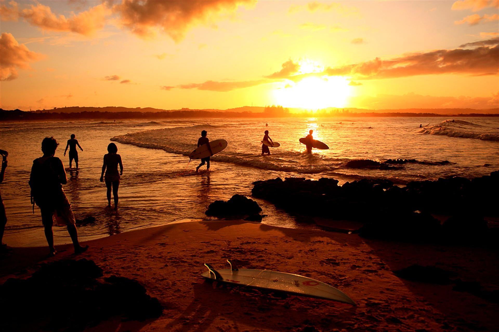 Australia Beaches Surfing
