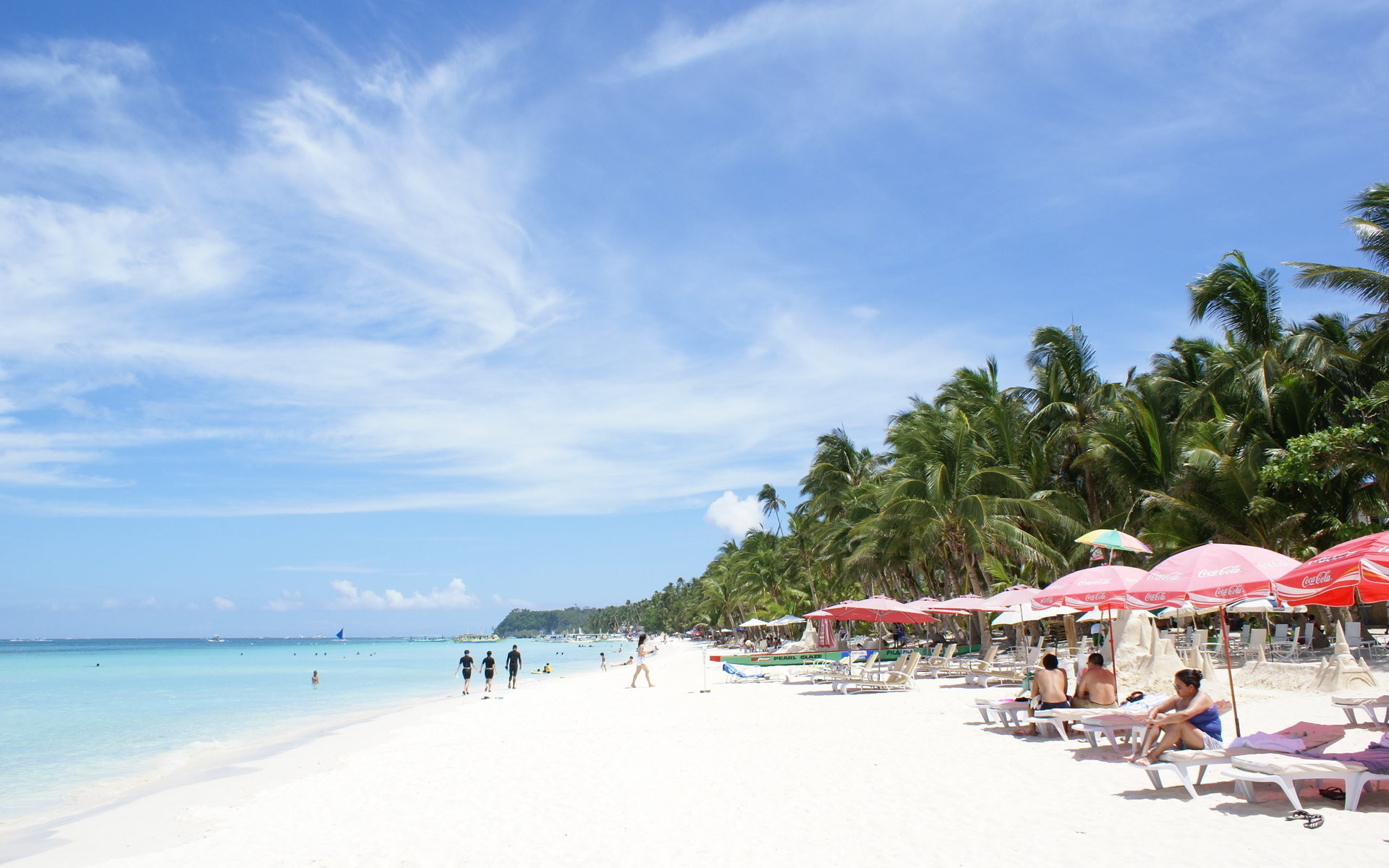 Beach wallpaper – Boracay island