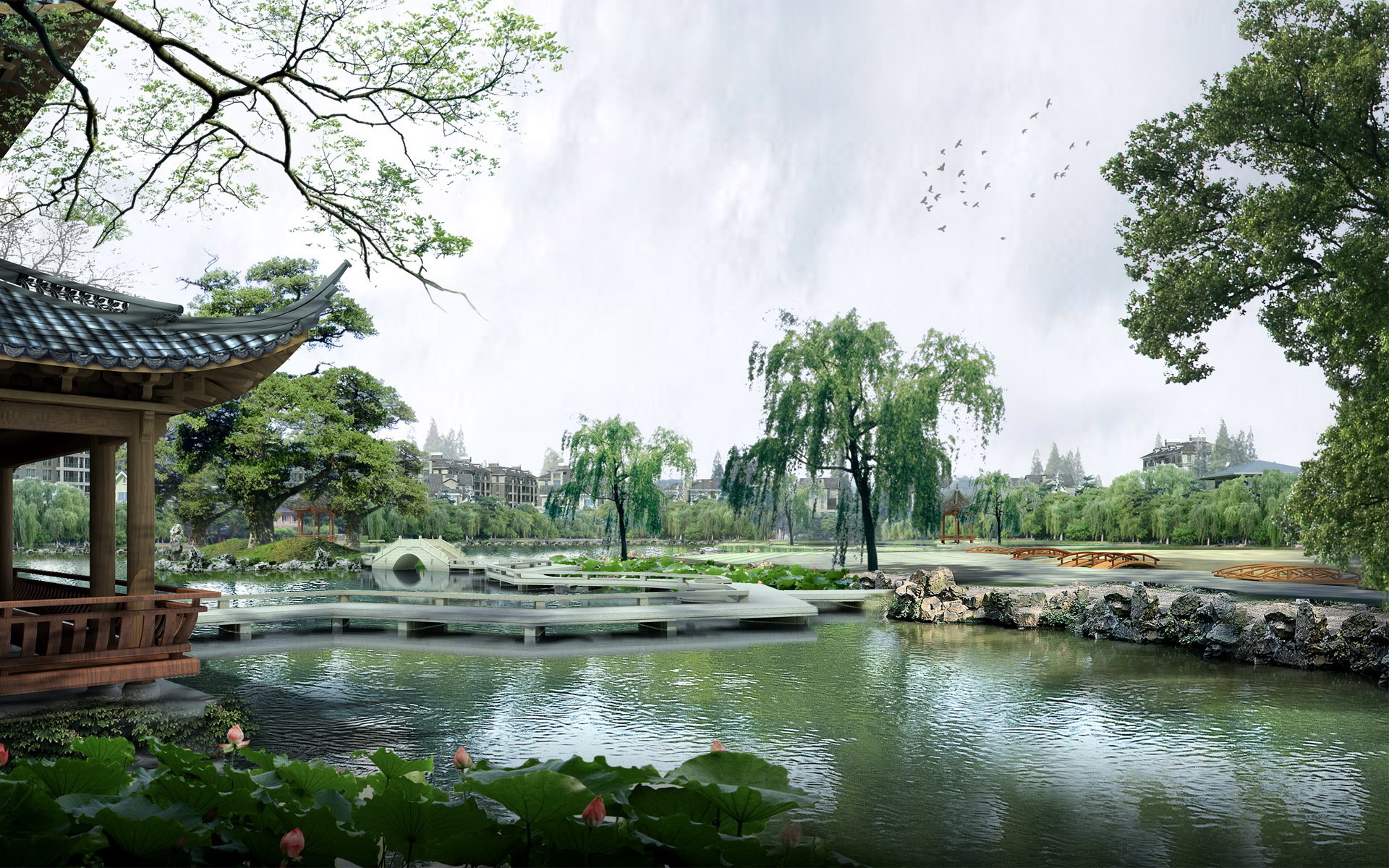 Lscape Chinese Art wallpapers HD free – 206084