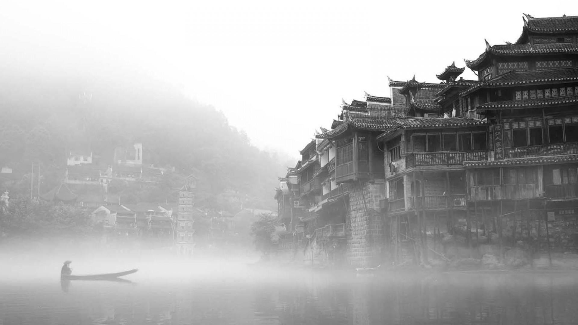 Ancient Chinese town `✿.¸¸.Ƹ✿Ʒ.¸¸. Chinese WallpaperWattpad