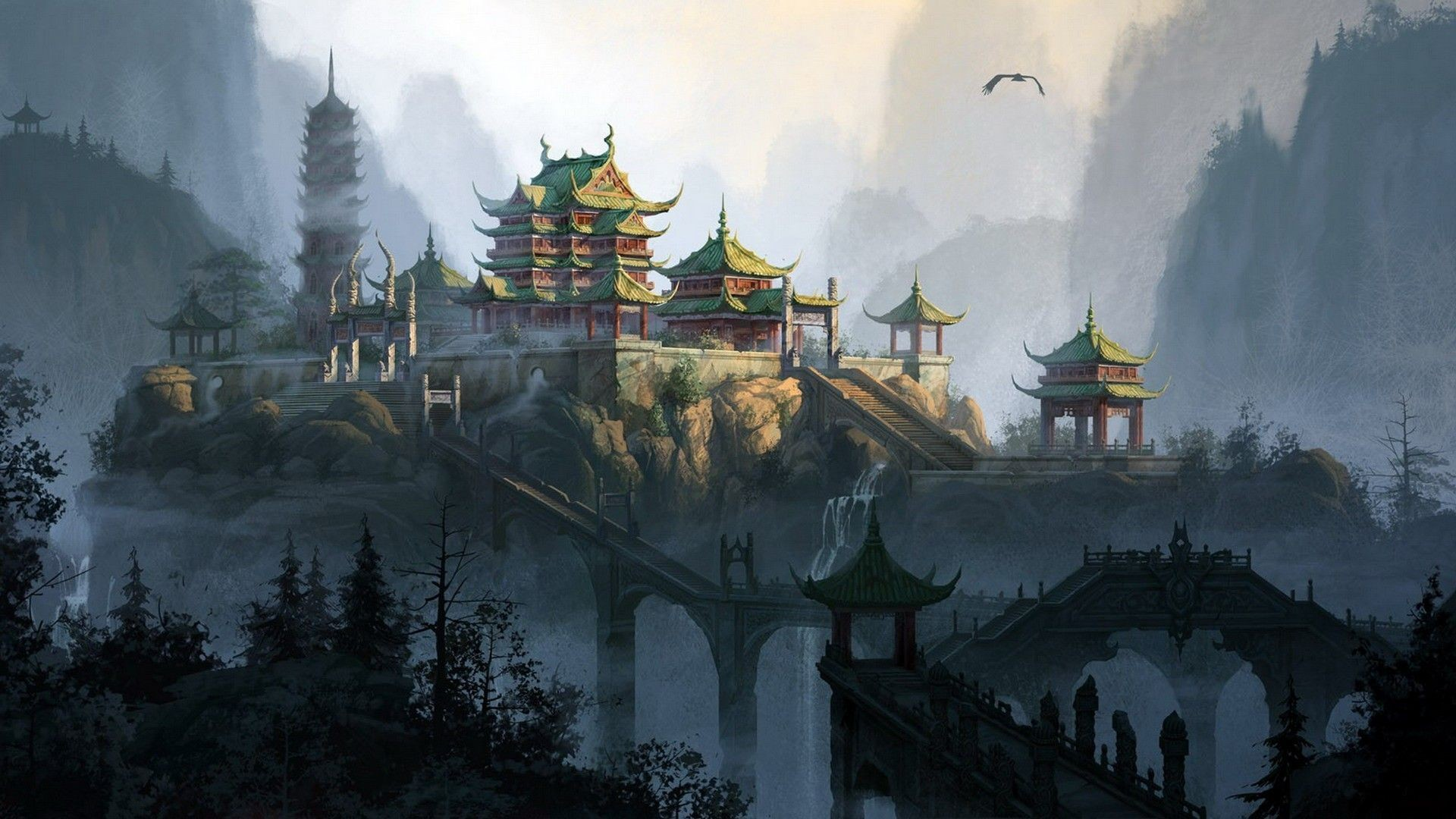 Chinese wallpapers