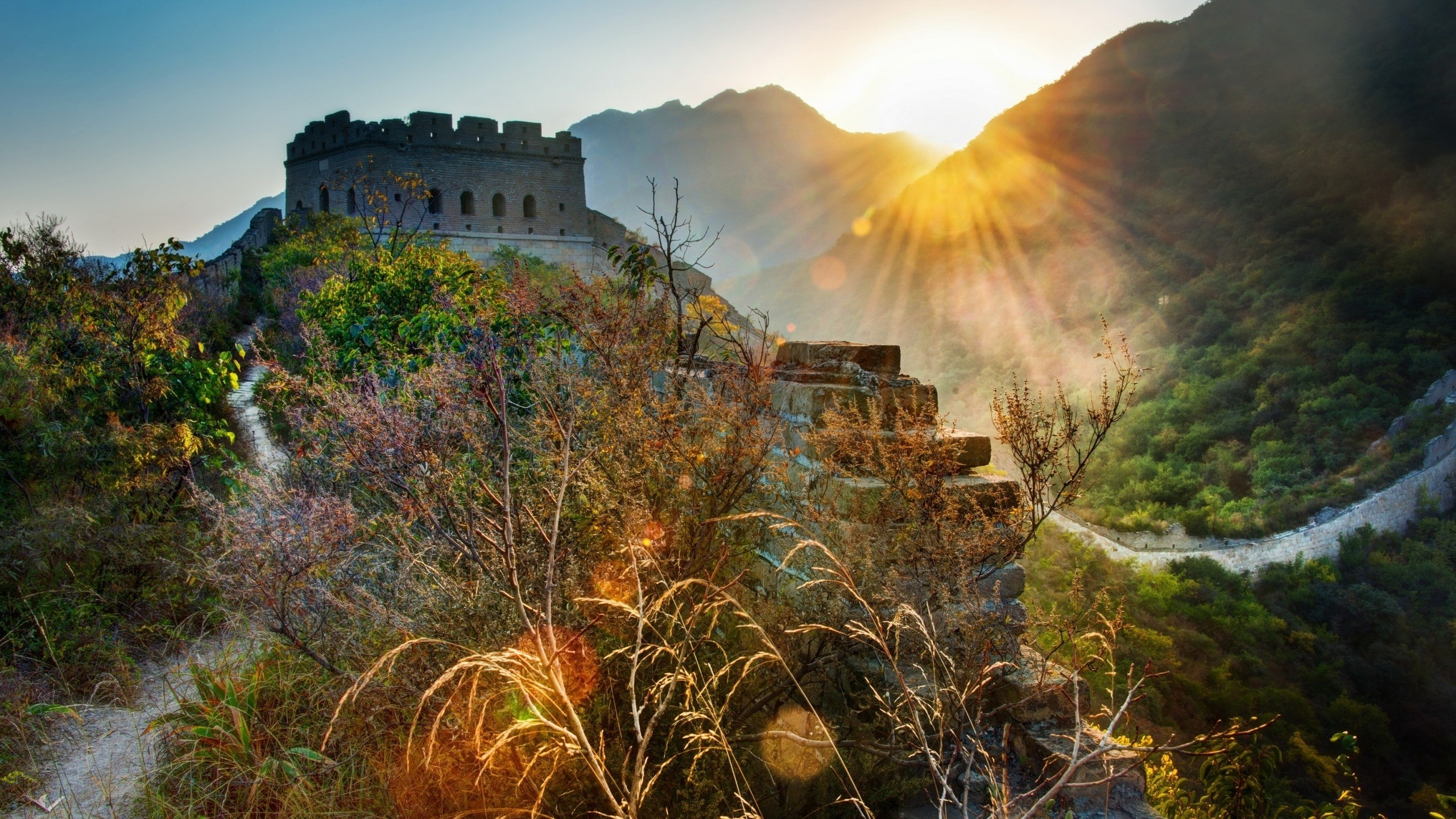 The Great Wall of China Landscape