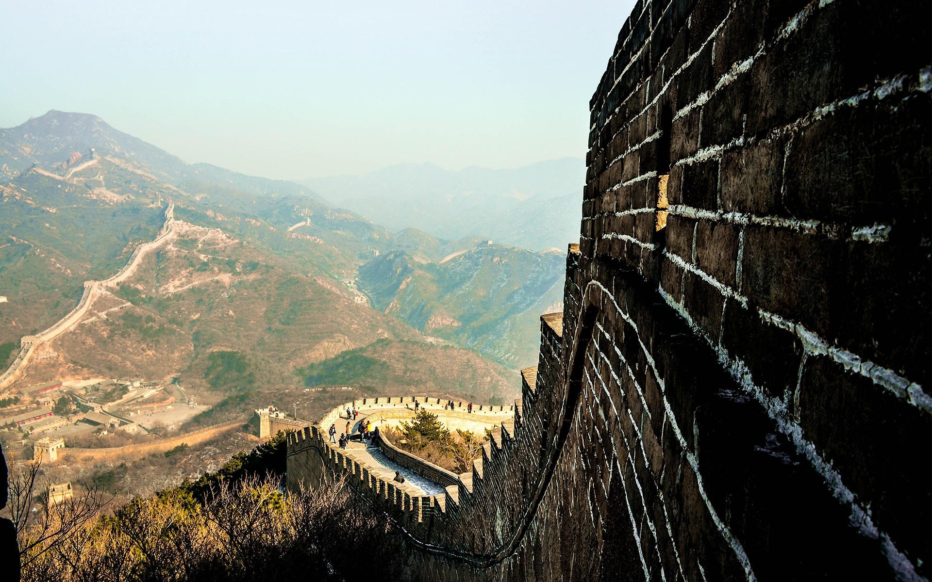 #Great Wall of China, #landscape, #China | Wallpaper No .
