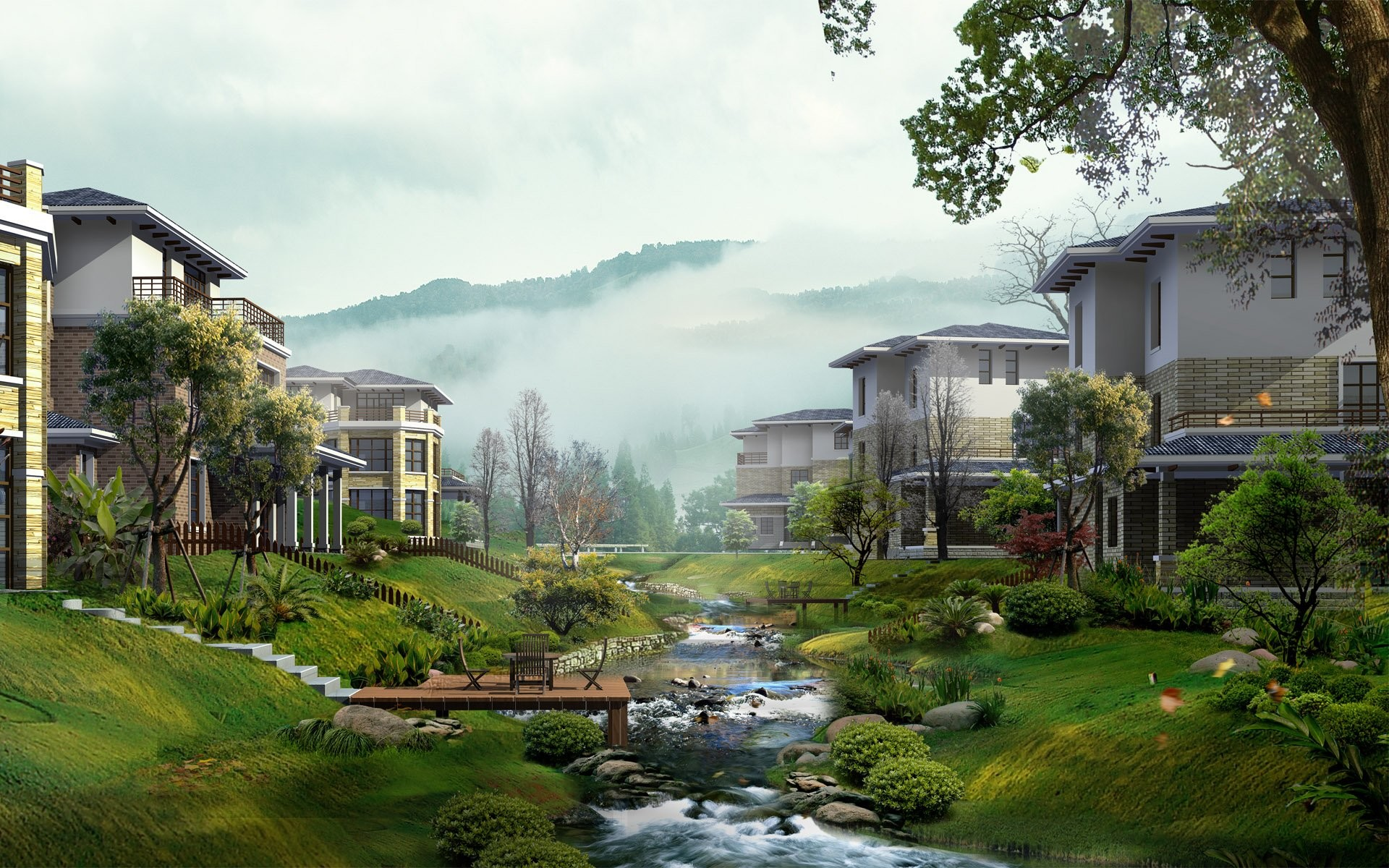 Village HD 359981. SHARE. TAGS: Images Photoshop China Landscape