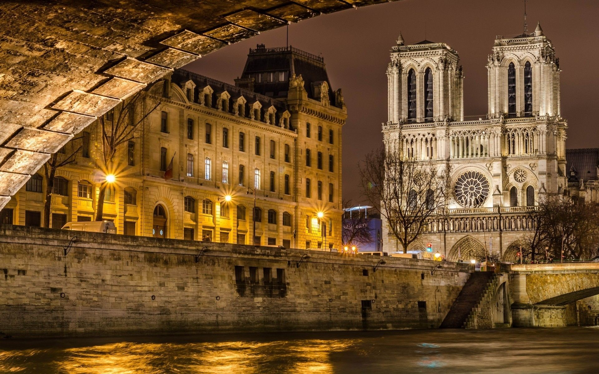 cathedral of notre dame wallpaper Download