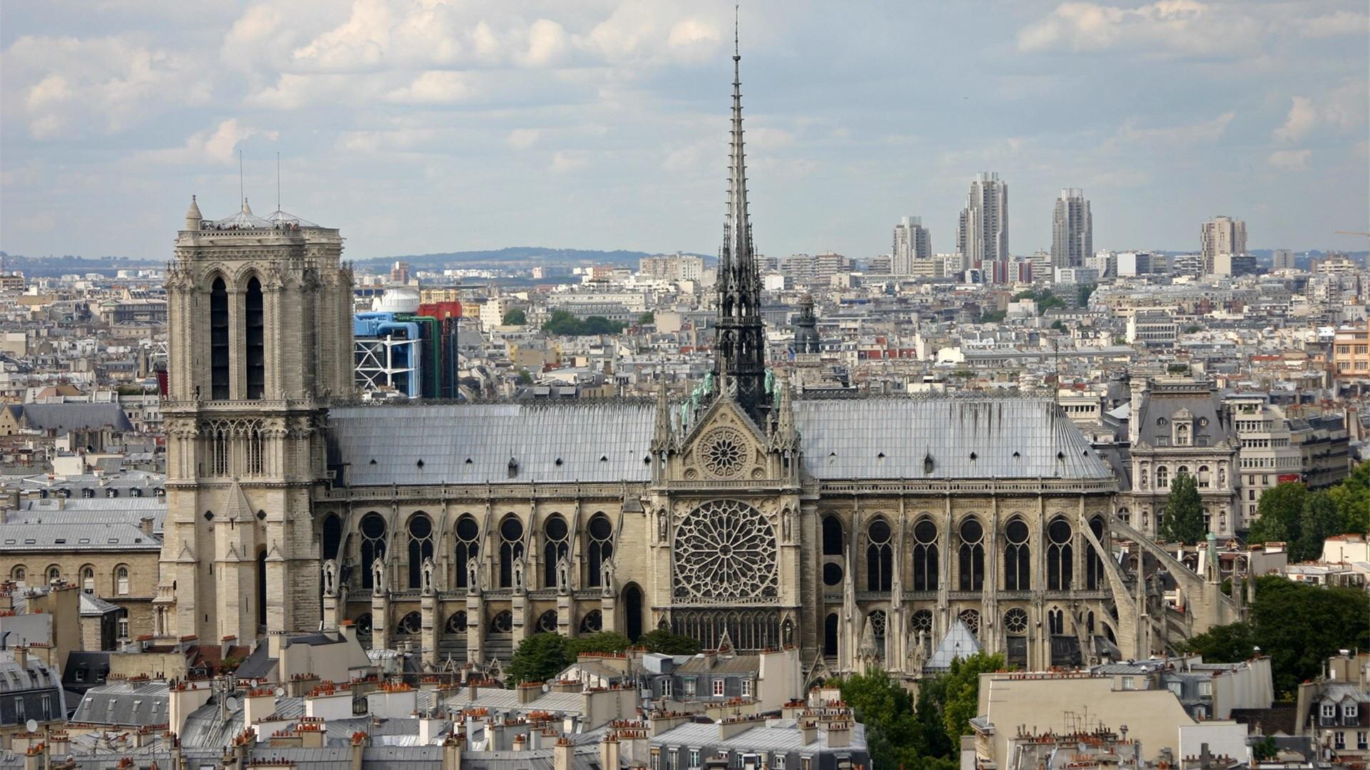 … wallpaper; catedral de notre dame walldevil …