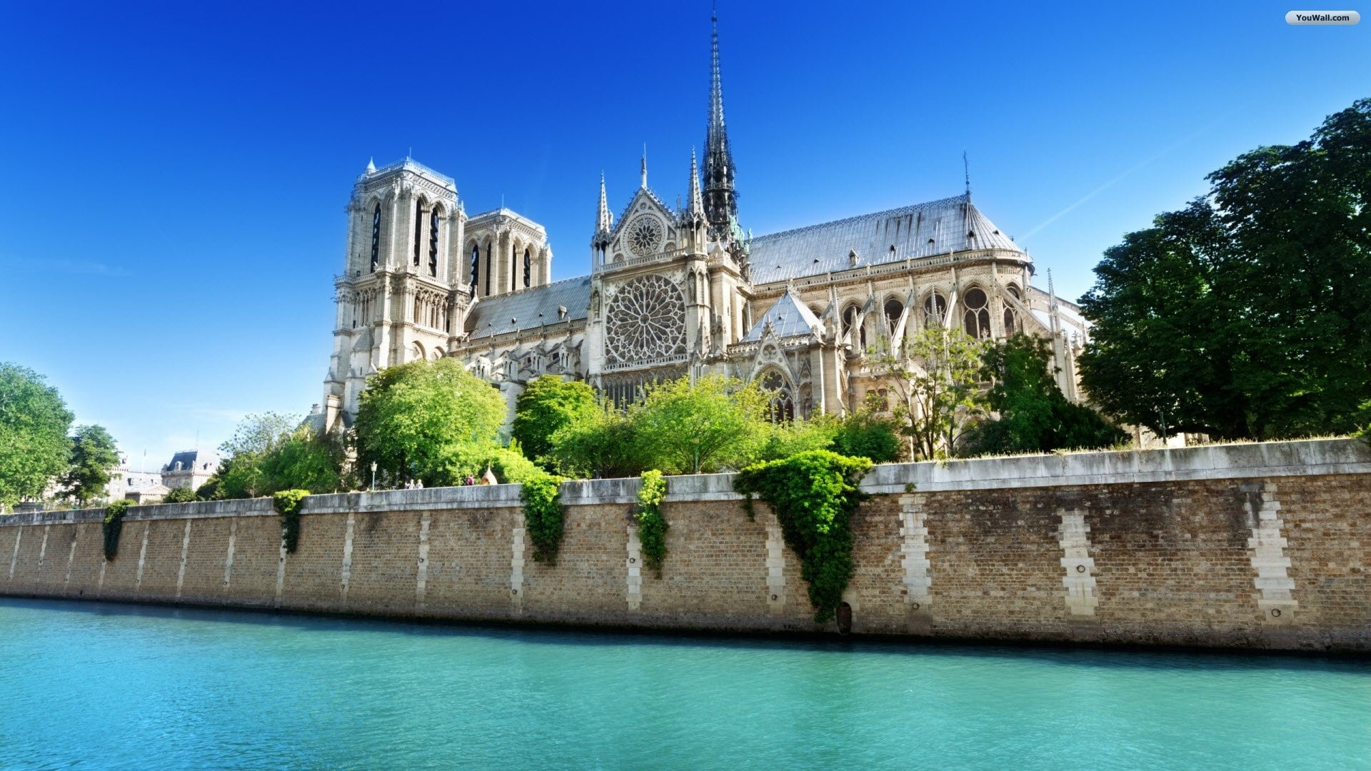 Notre Dame Wallpaper