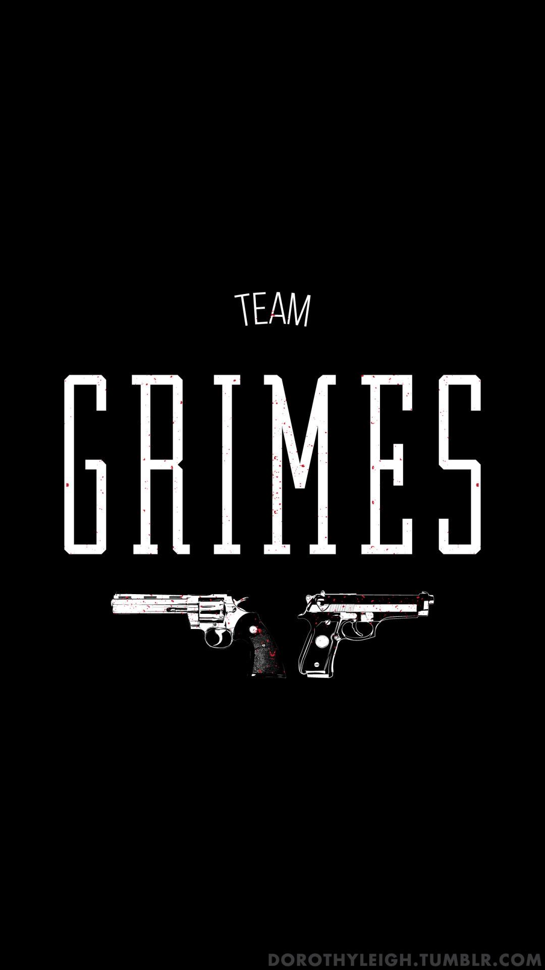 Team Grimes, Wallpaper Blog | Prints available below ^.^TeePublic |  Society6 |