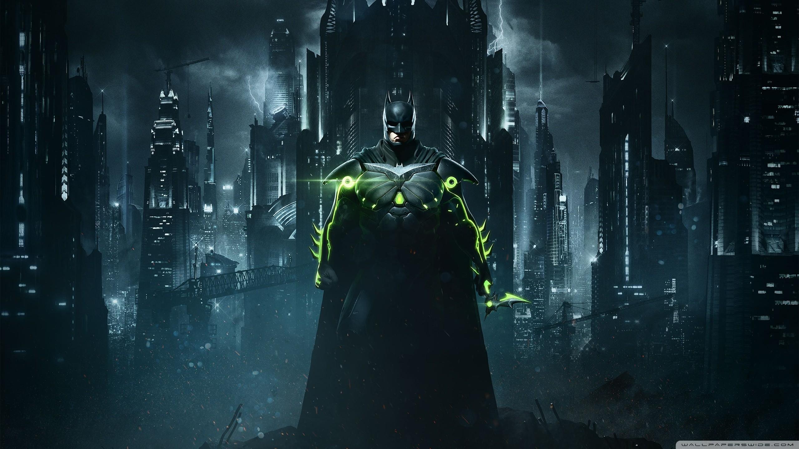 Injustice 2 Batman HD Wide Wallpaper for Widescreen