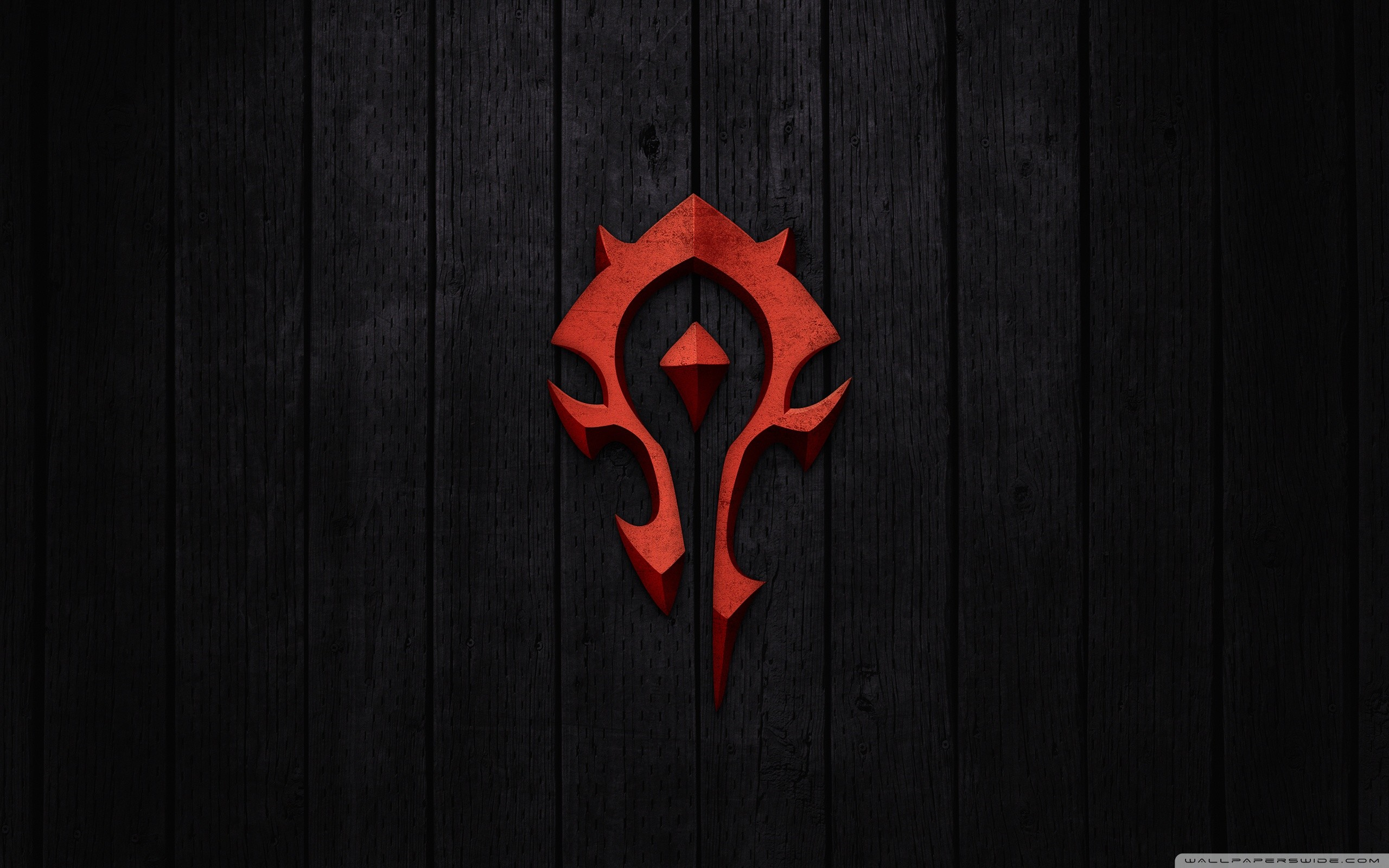 World of Warcraft – Horde Sign HD Wide Wallpaper for Widescreen