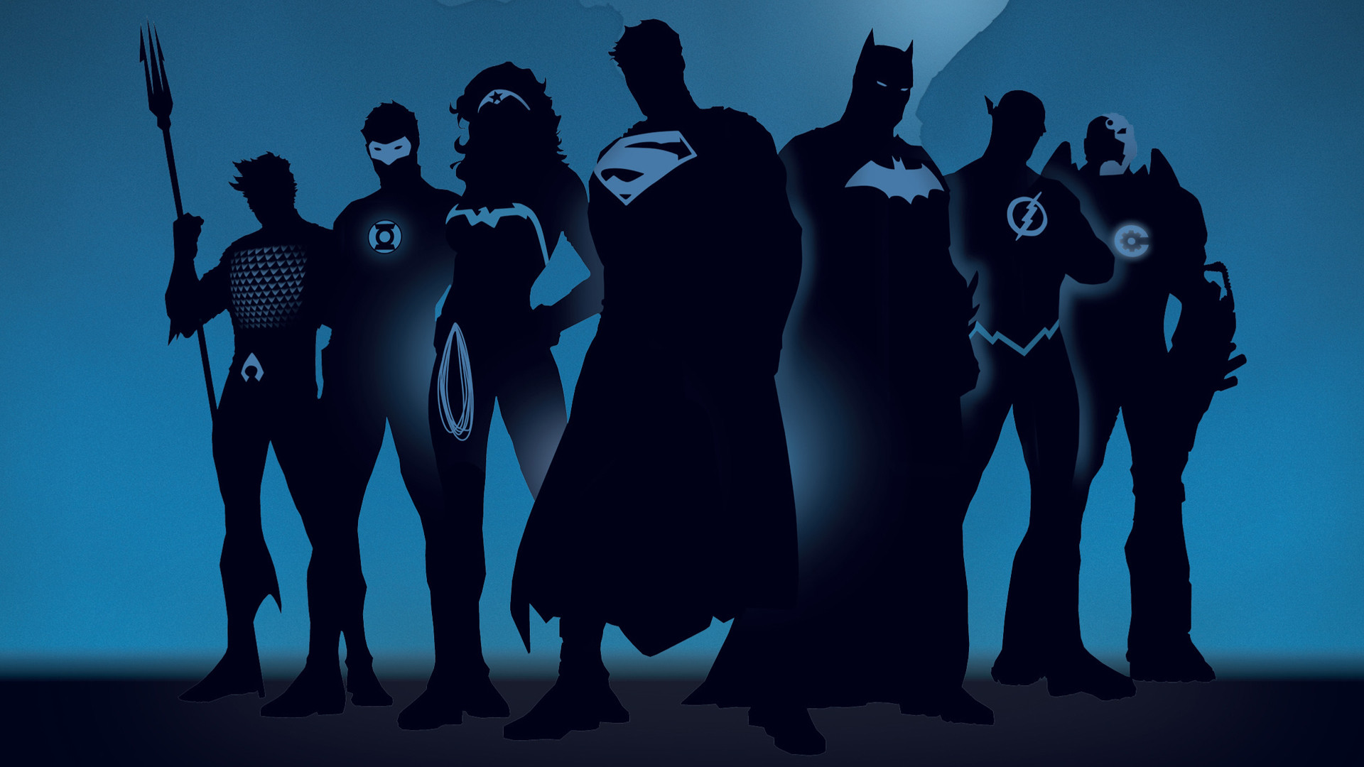 Super Heroes in God's League of Justice