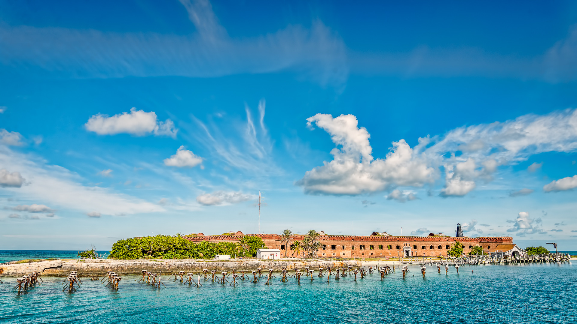 Fort Jefferson at Dry Tortugas Key West Florida