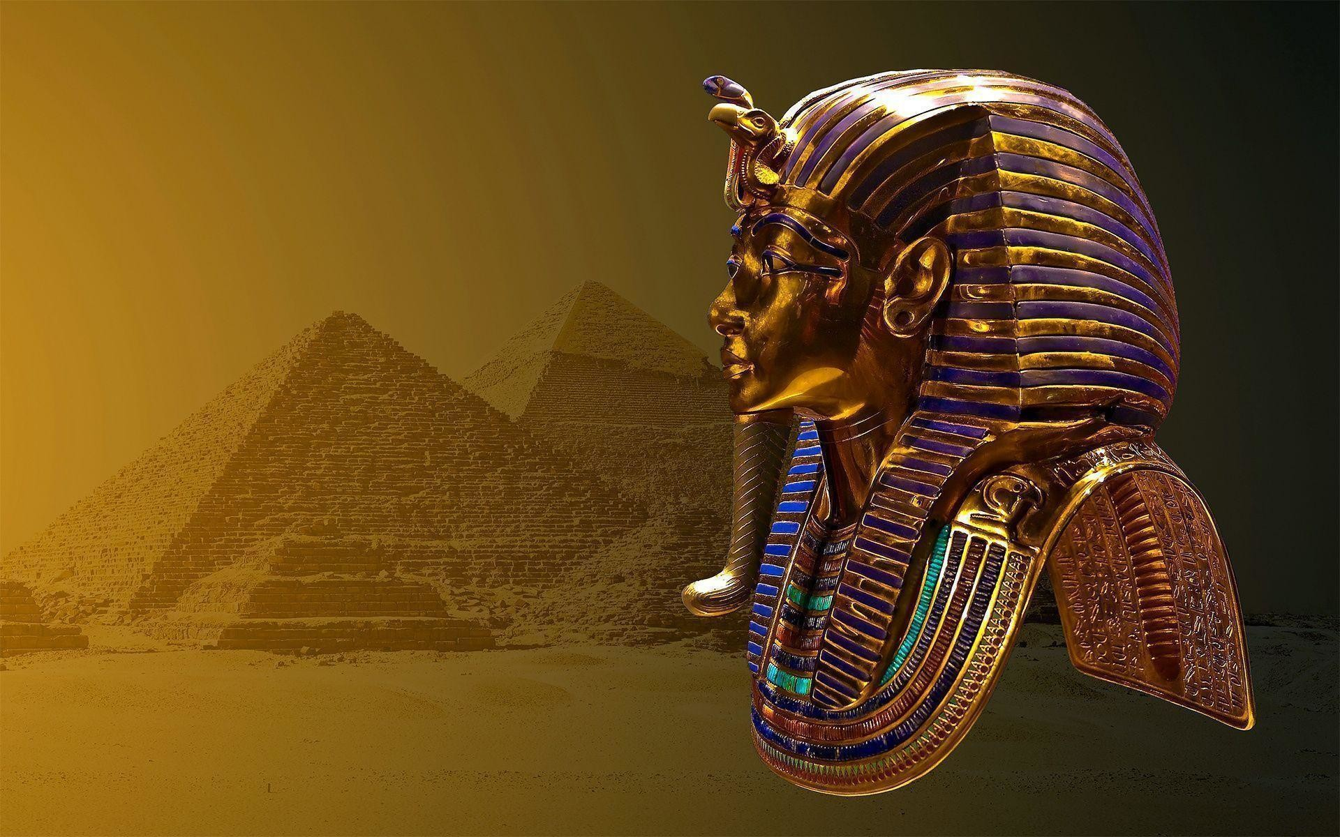 pharaoh mask HD wallpaper | Wallpaper