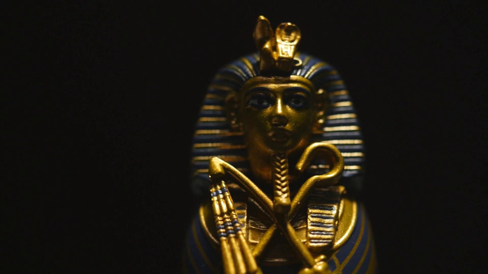 4K Old Sarcophagus of Pharaoh Mummy Tomb Artifact – Egypt Figure Stock  Video Footage – VideoBlocks