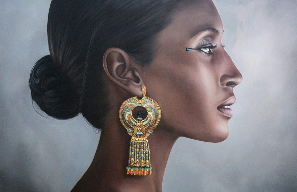 hatshepsut hatshepsut a woman earrings egypt portrait pharaoh
