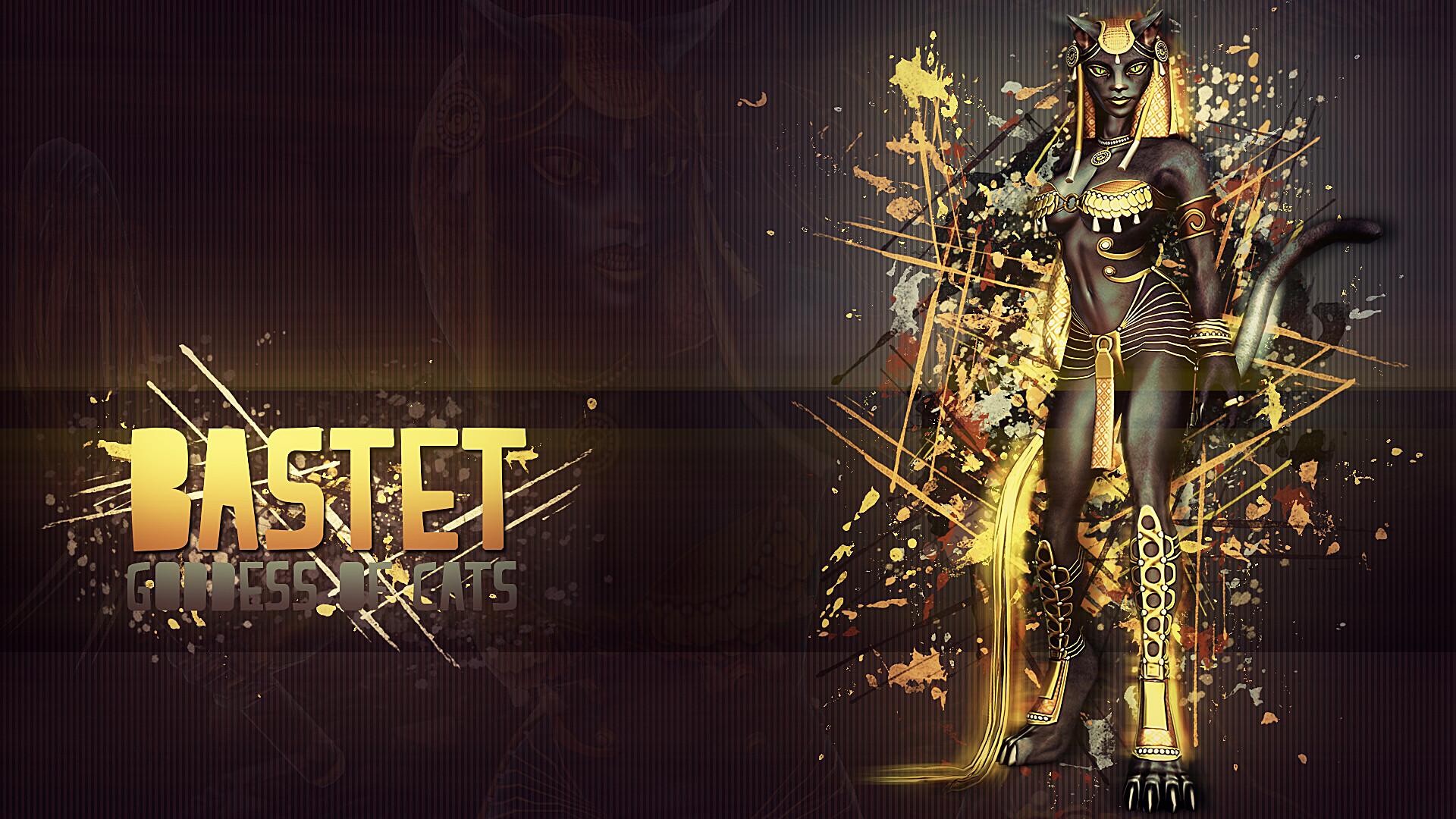 Bastet, Goddess of Cats – Wallpaper HD by Getsukeii on DeviantArt