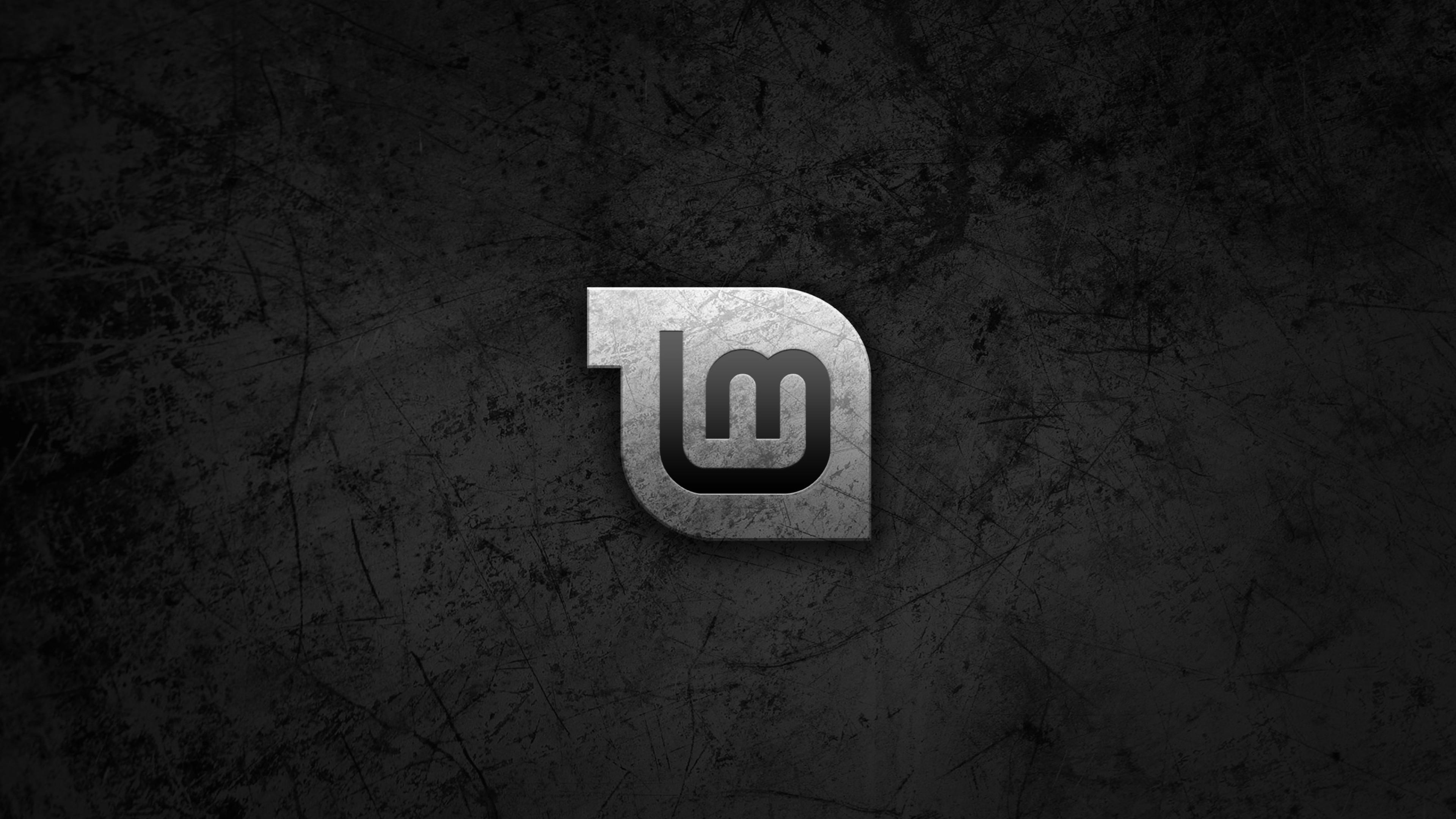 Preview wallpaper linux, linux mint, black, gnu 3840×2160