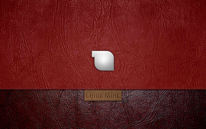 Wallpaper Linux MInt Wallpaper De Piele