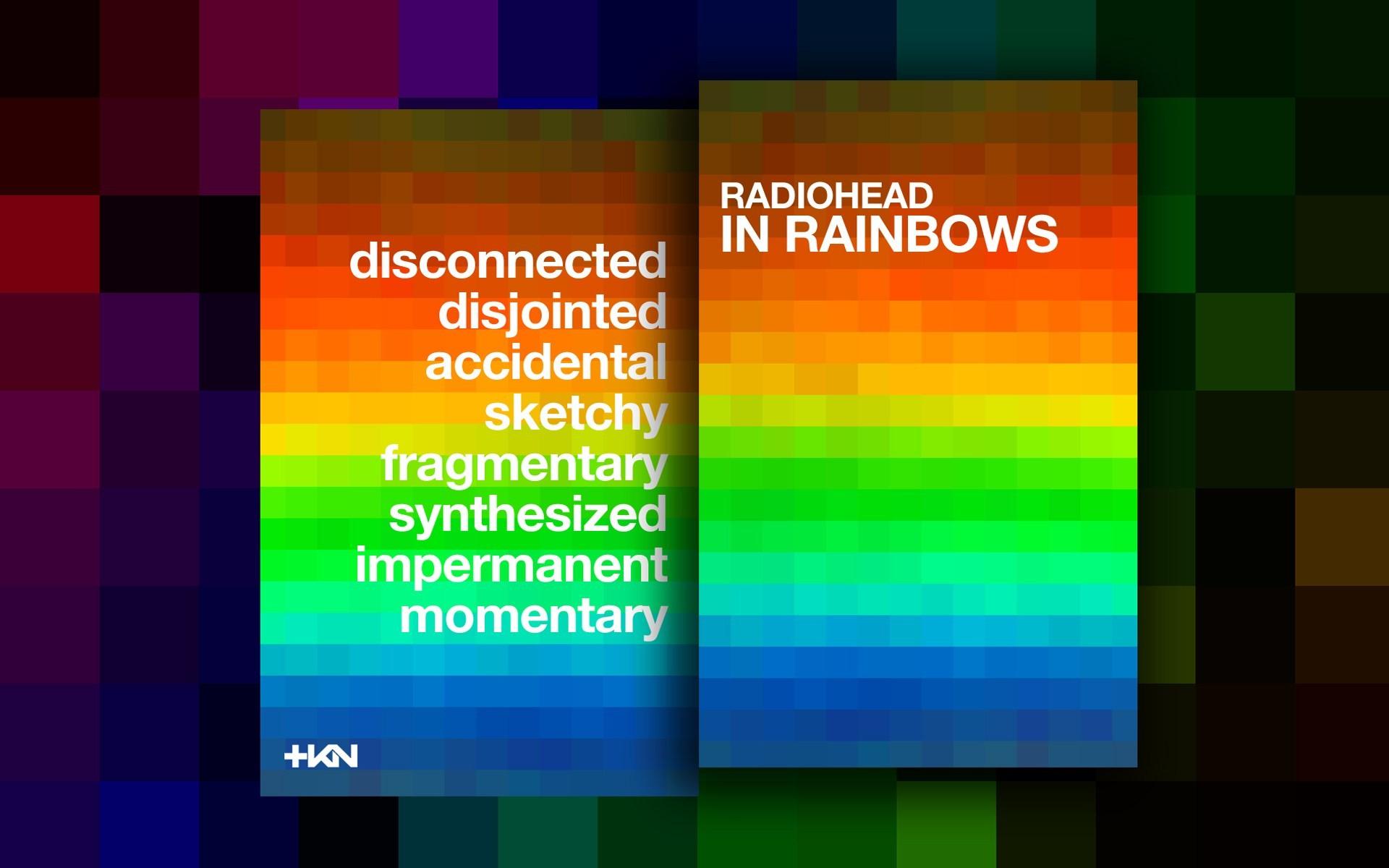 Radiohead Countdown Wallpaper: #7 of 7 In Rainbows
