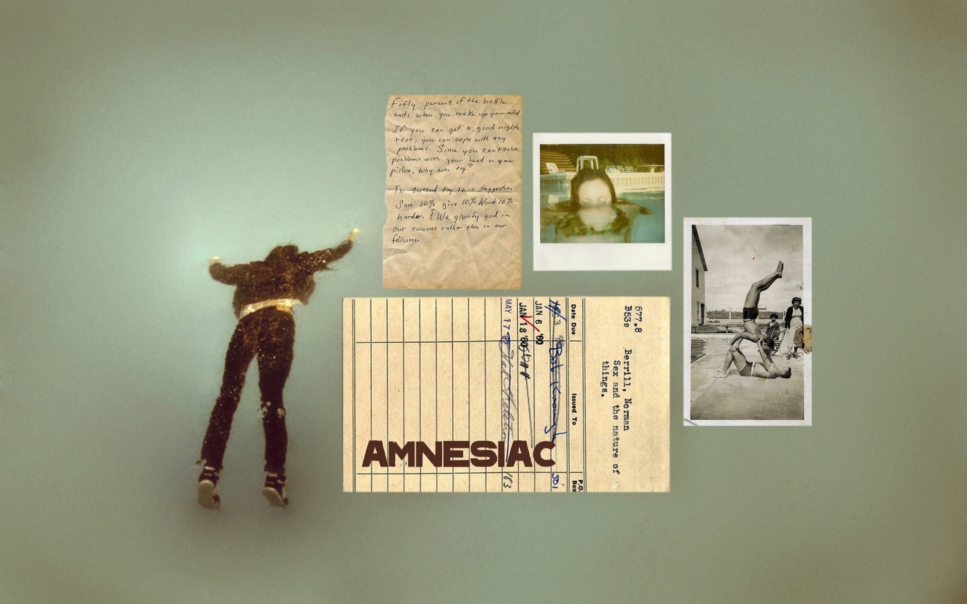 Radiohead Countdown Wallpaper: #5 of 7 Amnesiac