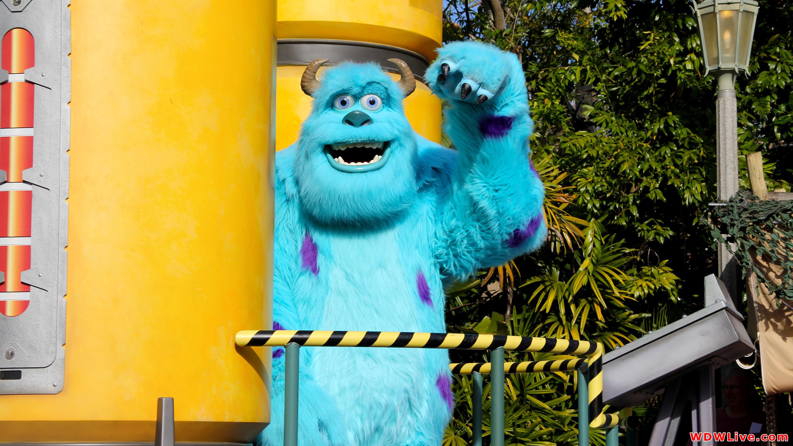 Pixar Pals Countdown to Fun! Desktop Wallpaper