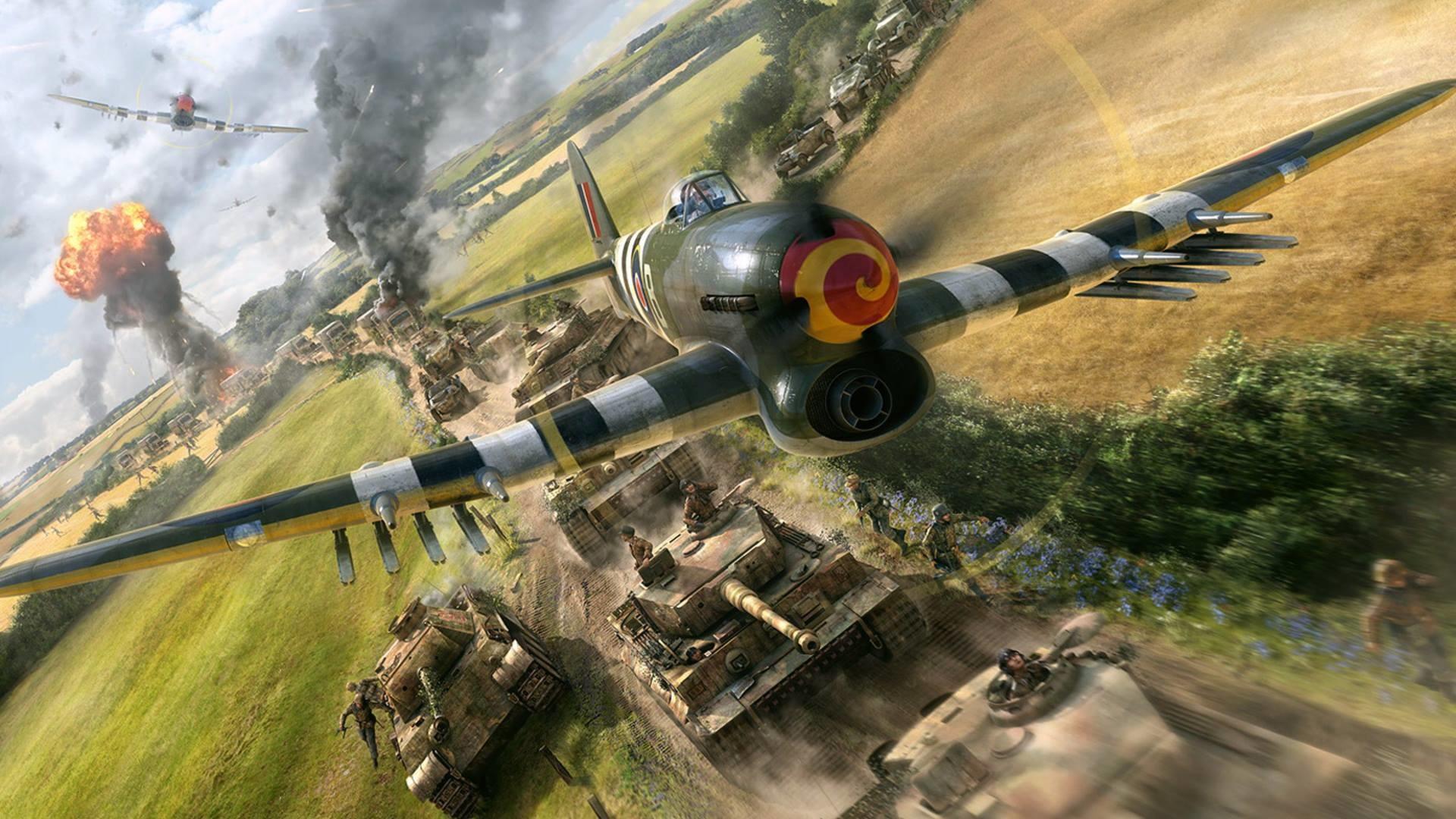 World War II Aircraft Wallpapers – Wallpaper Zone