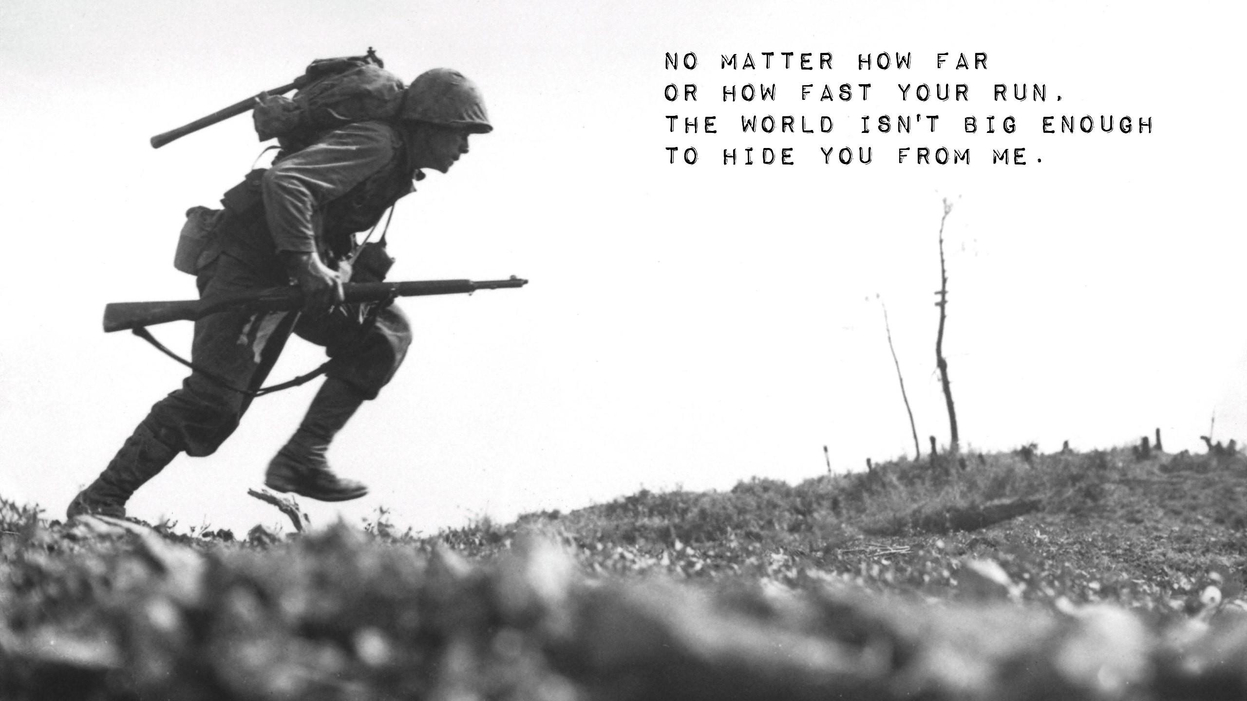 Description: Download Soldiers fate death grayscale world war ii wallpaper/desktop  background in HD & Widescreen resolution.