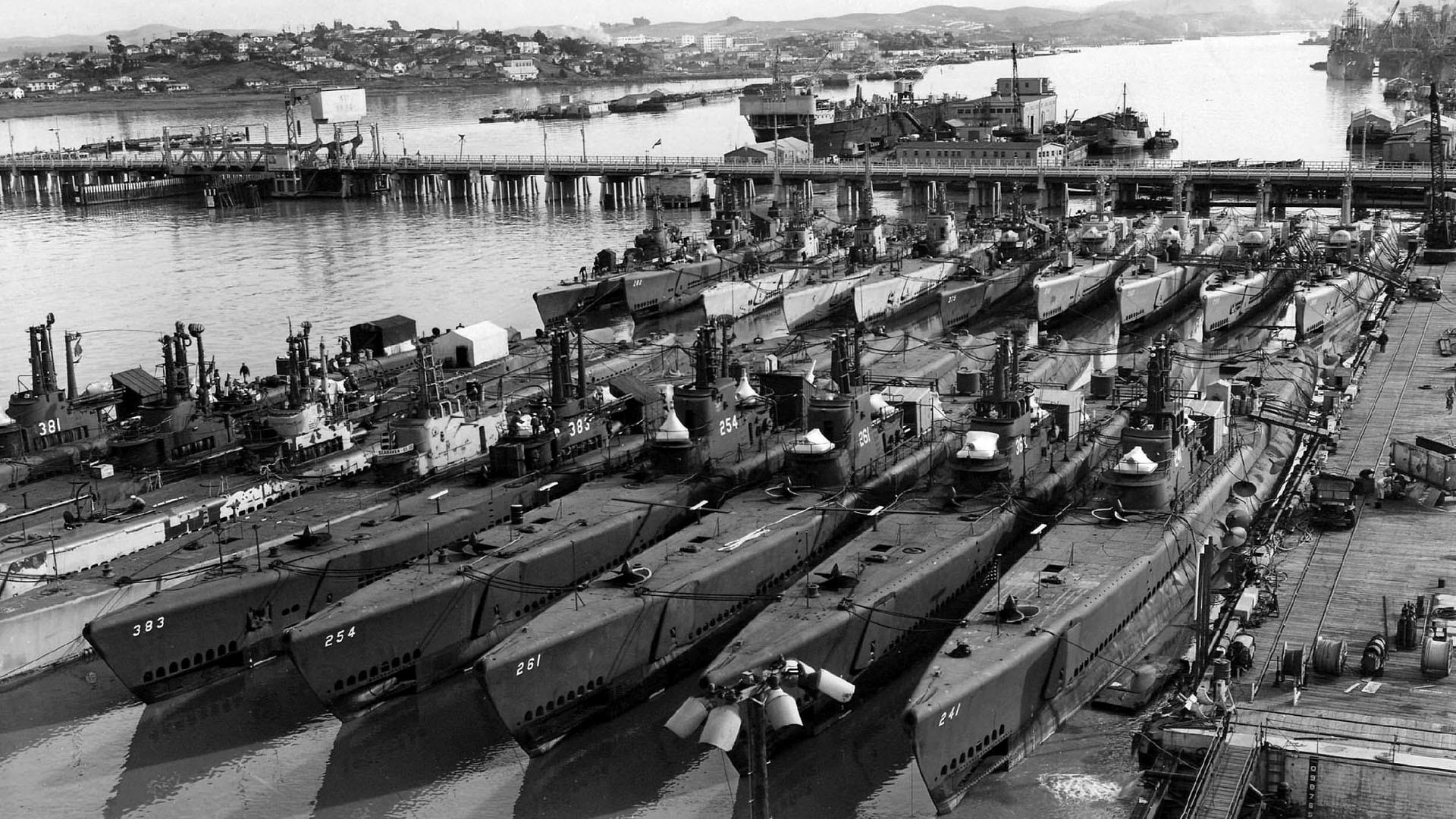 World War II Submarines